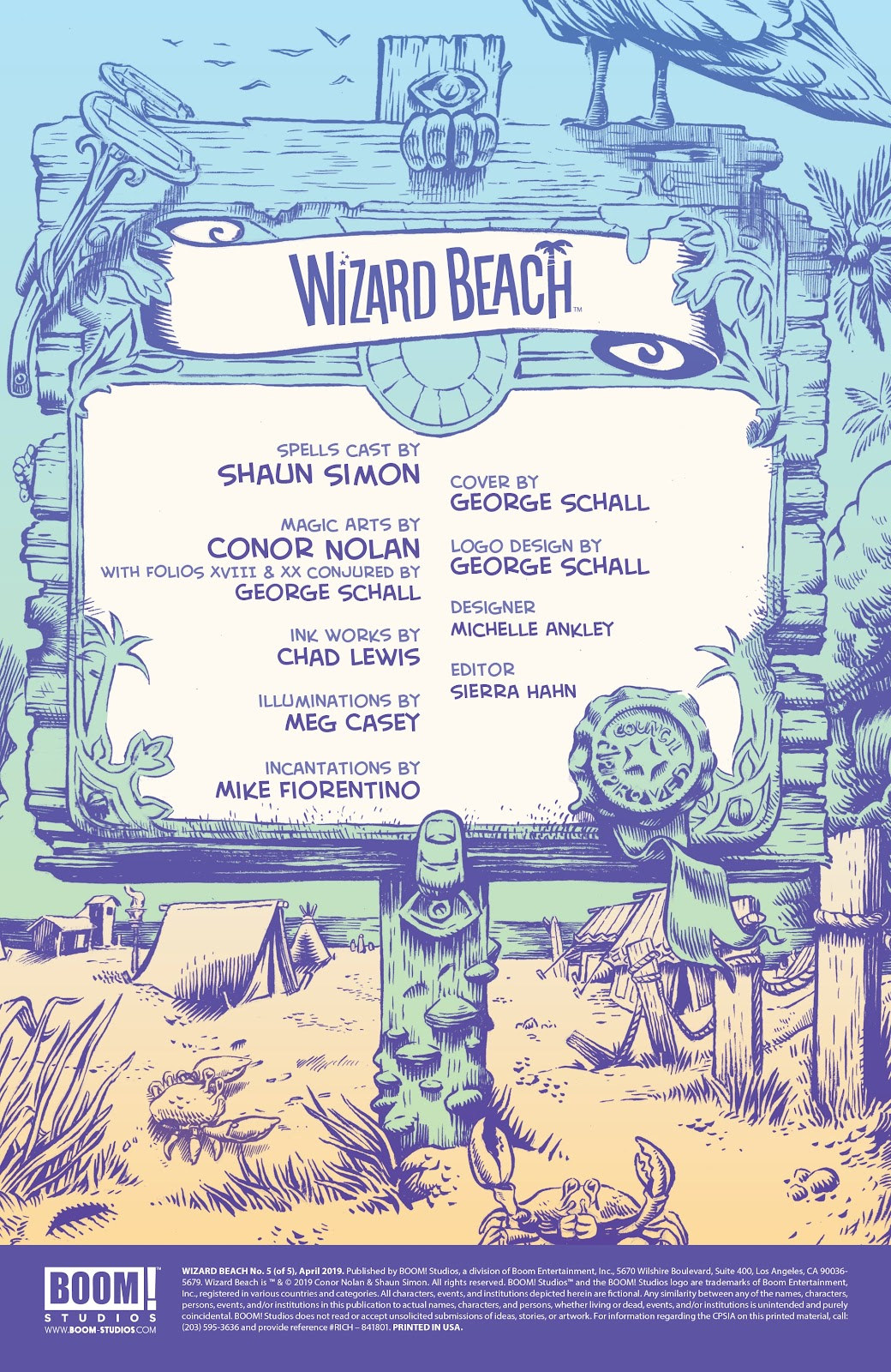 Read online Wizard Beach comic -  Issue #5 - 2