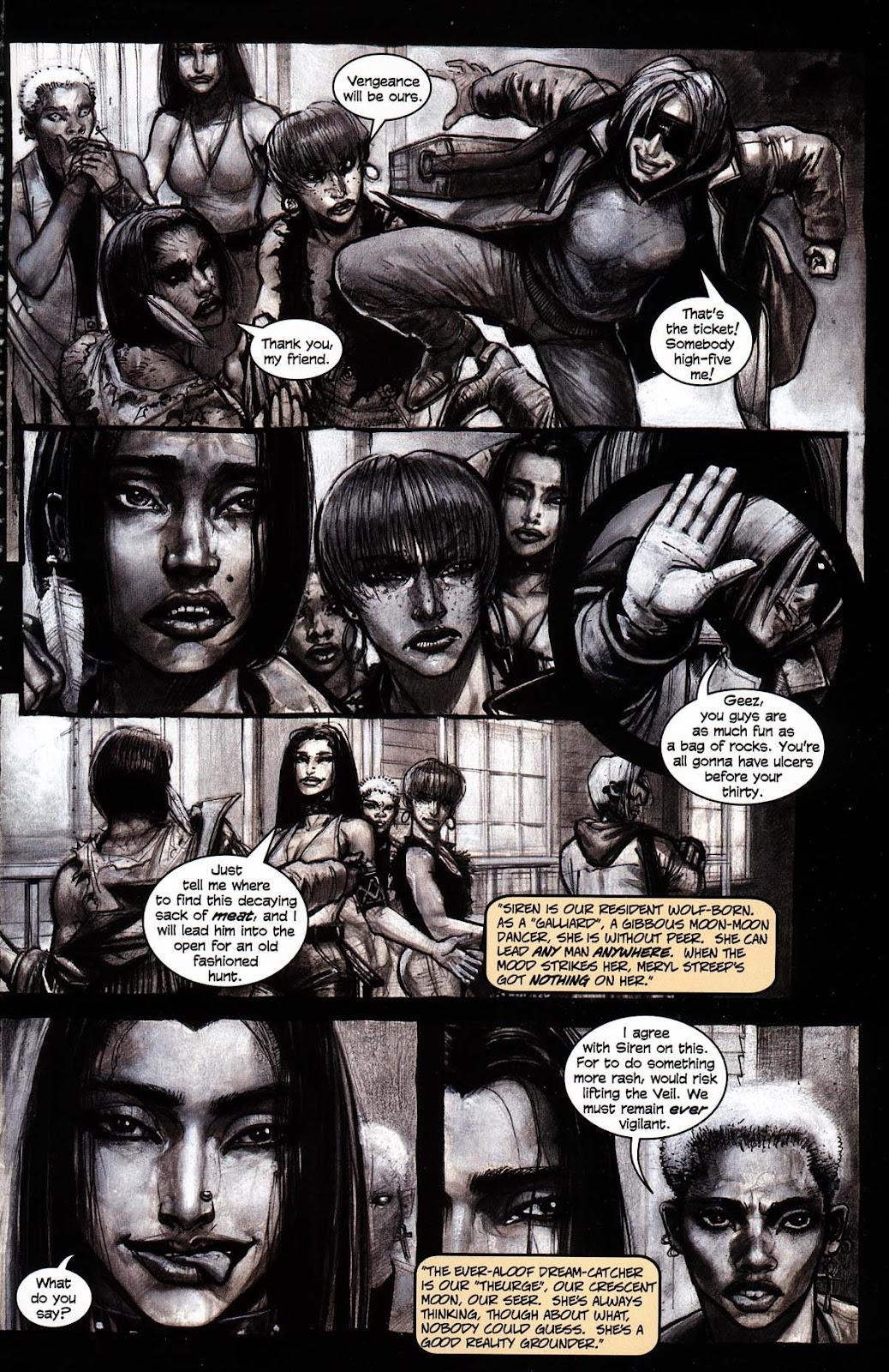 Read online Werewolf the Apocalypse comic -  Issue # Black Furies - 11