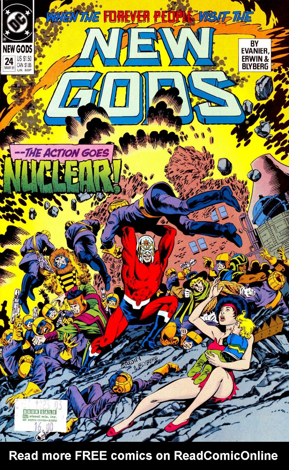 The New Gods (1989) 24 Page 1