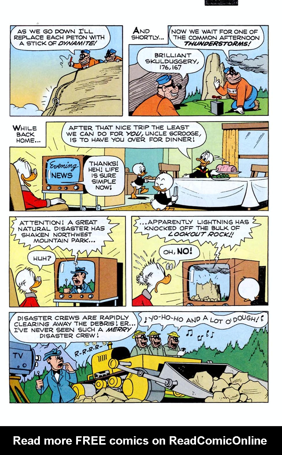 Read online Uncle Scrooge (1953) comic -  Issue #290 - 23