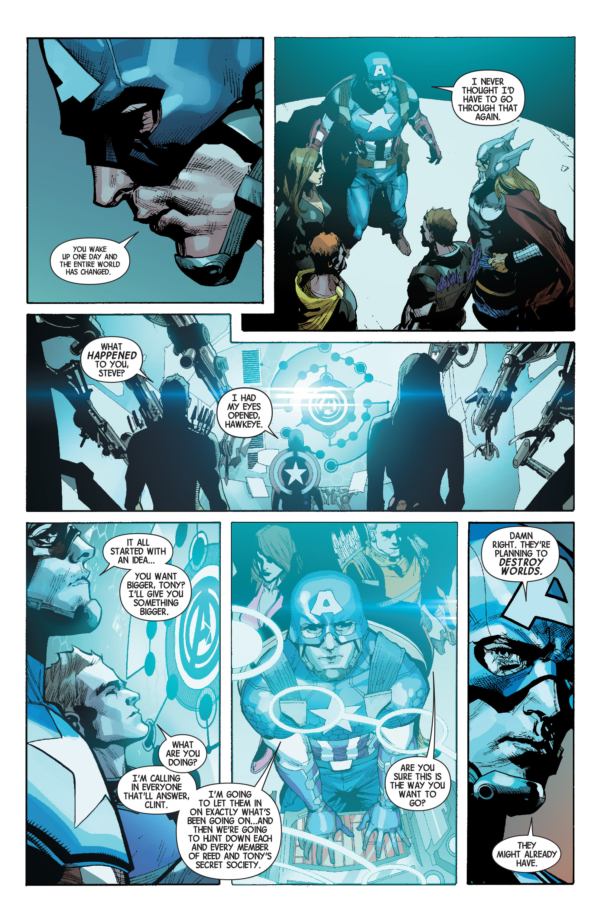 Read online Avengers (2013) comic -  Issue #Avengers (2013) _TPB 6 - 146