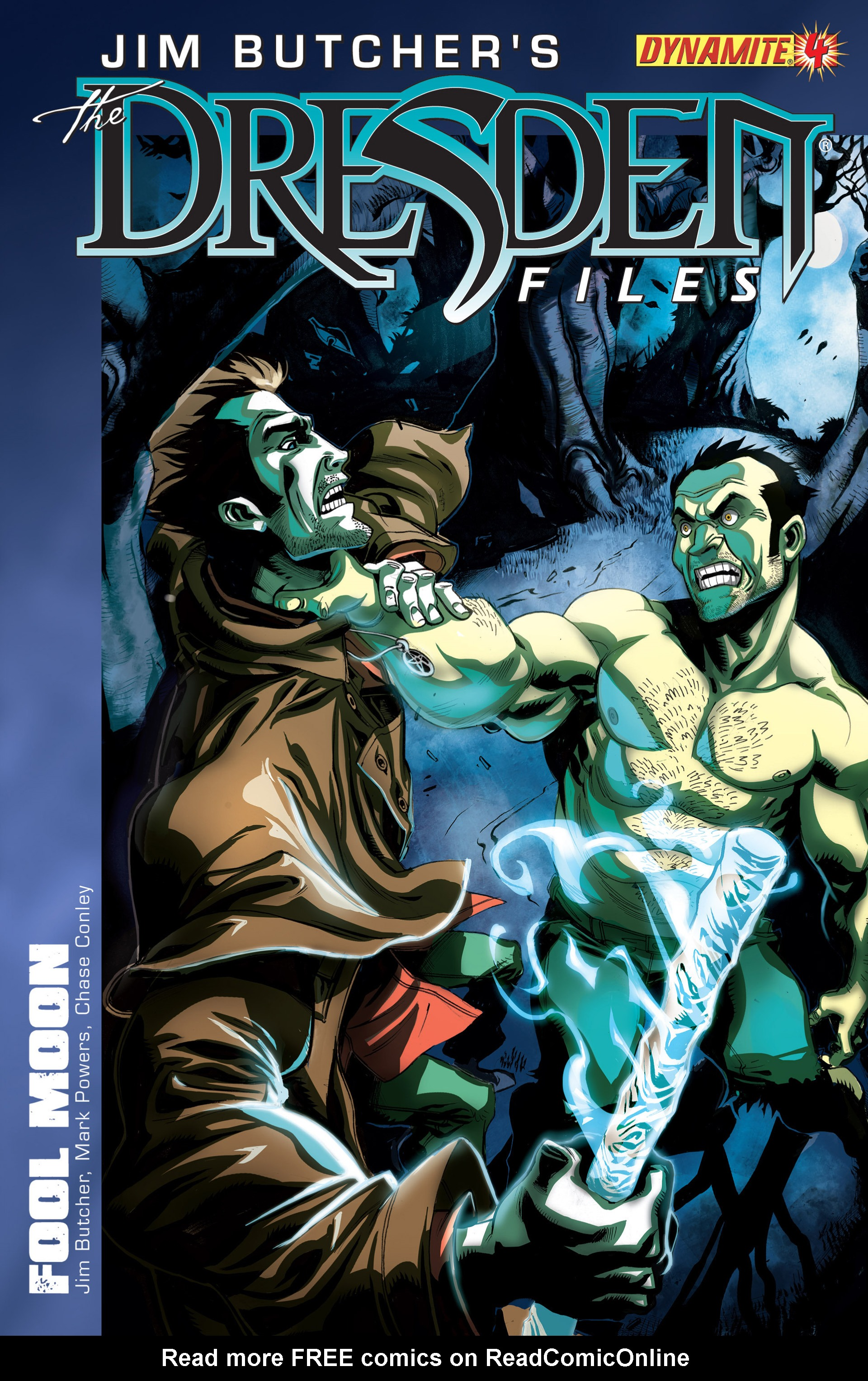 Read online Jim Butcher's The Dresden Files: Fool Moon comic -  Issue #4 - 1
