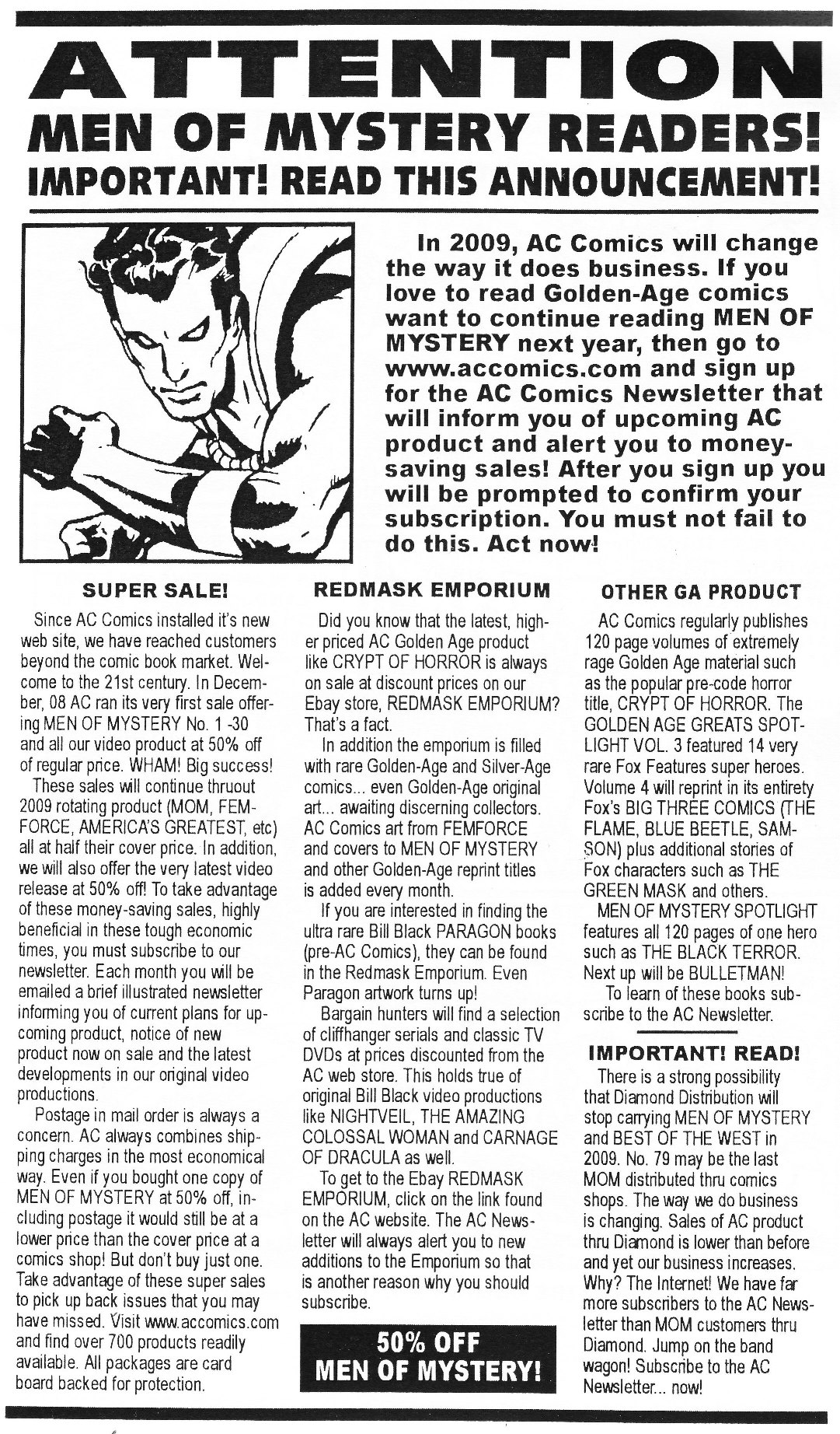 Read online Men of Mystery Comics comic -  Issue #76 - 29
