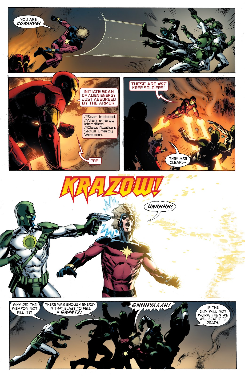 Read online Secret Invasion: Rise of the Skrulls comic -  Issue # TPB (Part 4) - 7