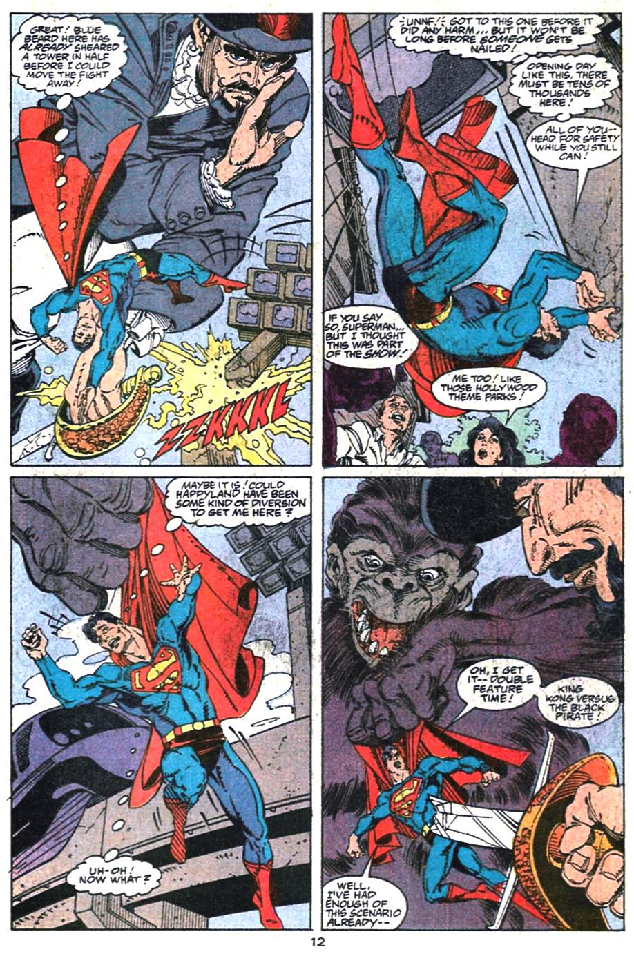 Read online Adventures of Superman (1987) comic -  Issue #475 - 13