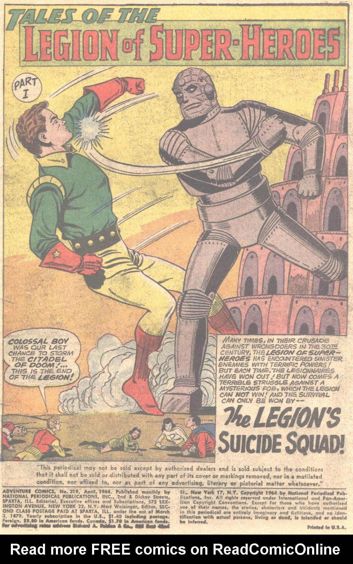 Read online Adventure Comics (1938) comic -  Issue #319 - 4