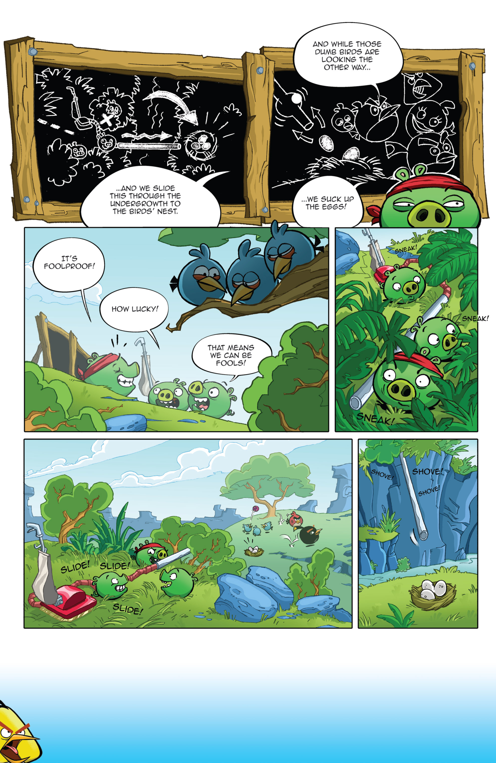 Read online Angry Birds Comics (2014) comic -  Issue #2 - 4