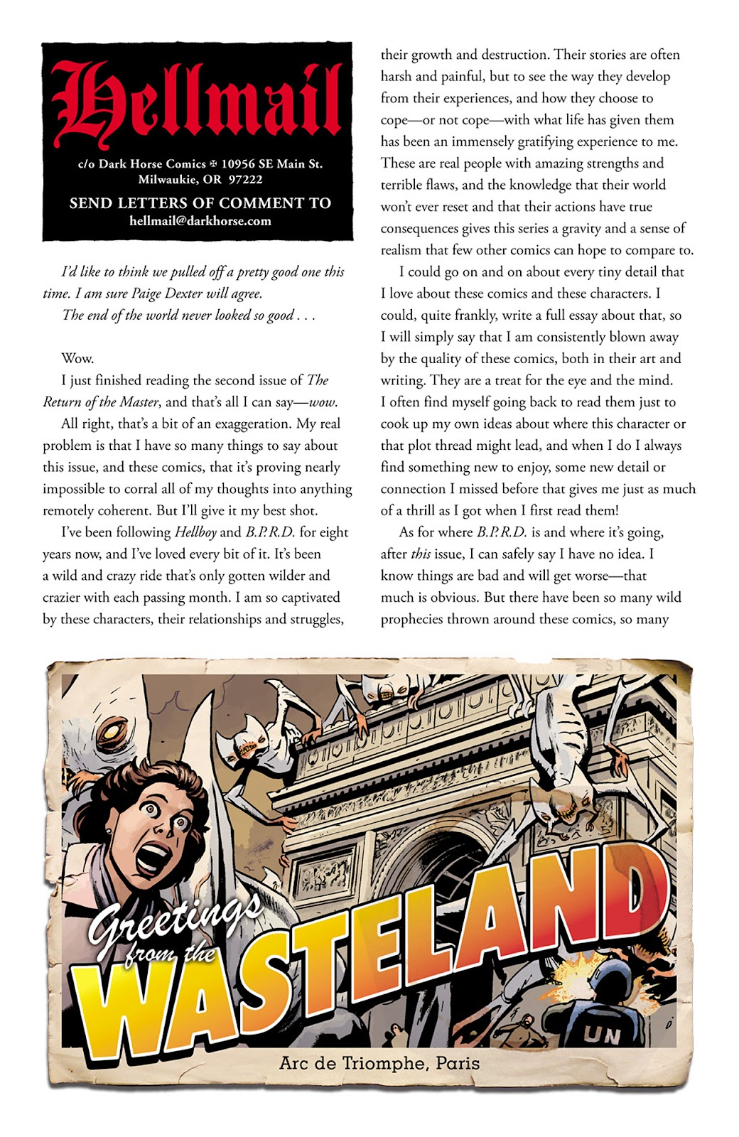 Read online B.P.R.D. Hell on Earth: The Return of the Master comic -  Issue #5 - 25