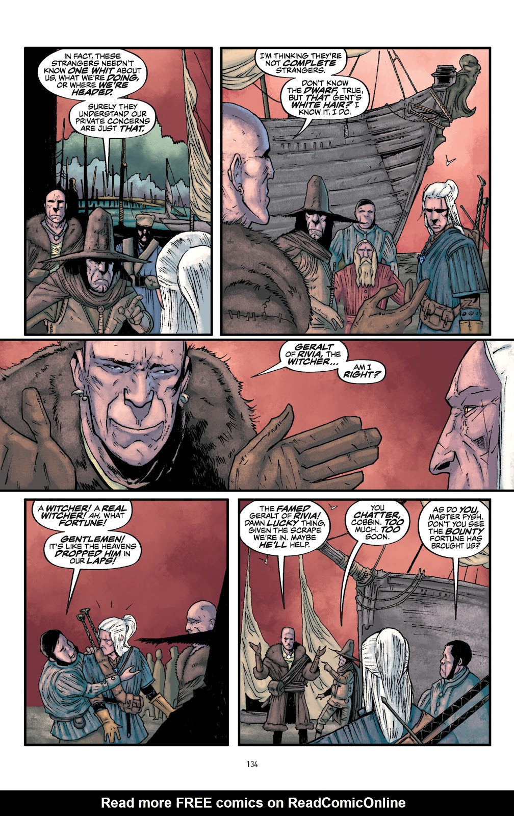 Read online The Witcher Omnibus comic -  Issue # TPB (Part 2) - 36
