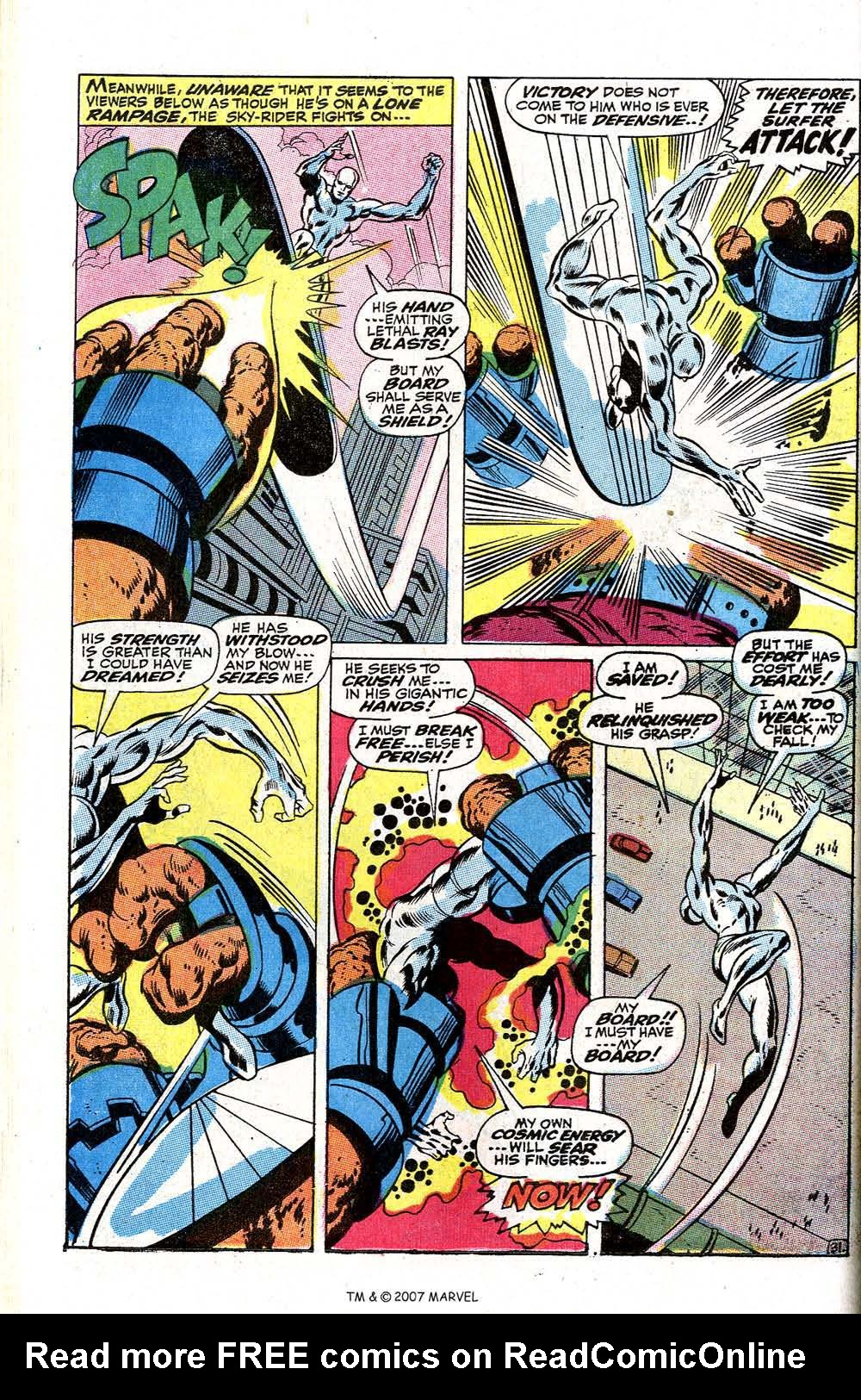Read online Silver Surfer (1968) comic -  Issue #2 - 40