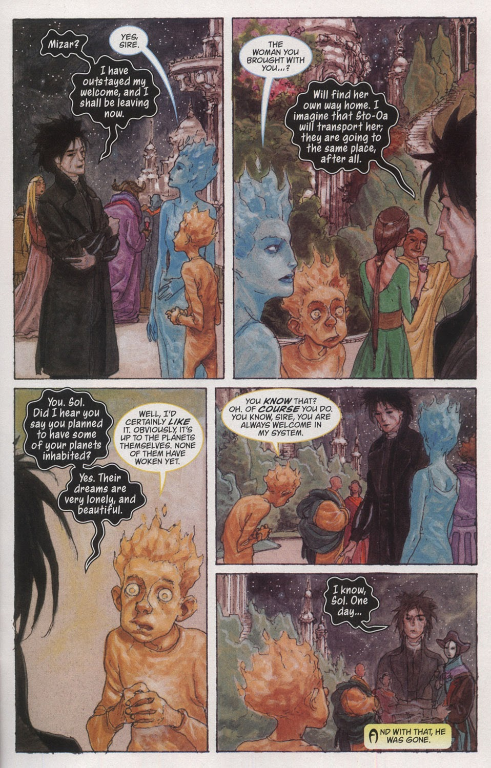 Read online The Sandman: Endless Nights comic -  Issue # _Special - 23