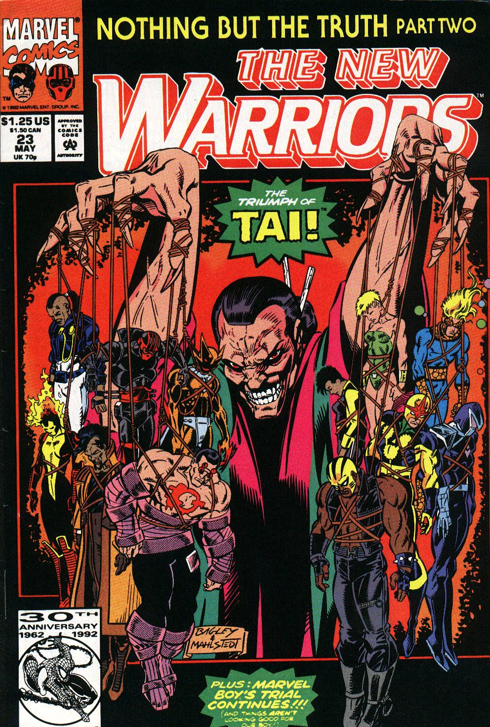 The New Warriors Issue #23 #27 - English 1