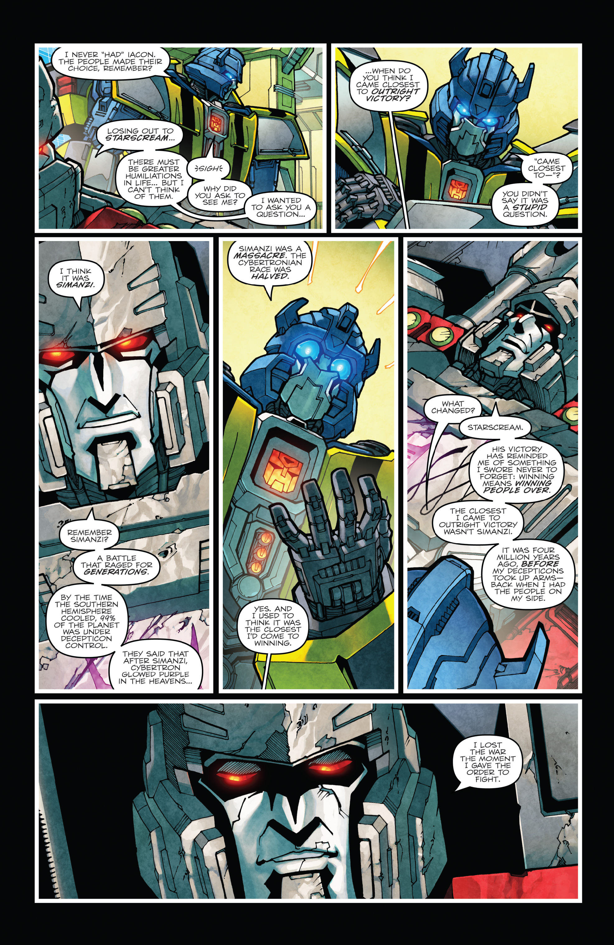 Read online The Transformers: Dark Cybertron Finale comic -  Issue # Full - 90
