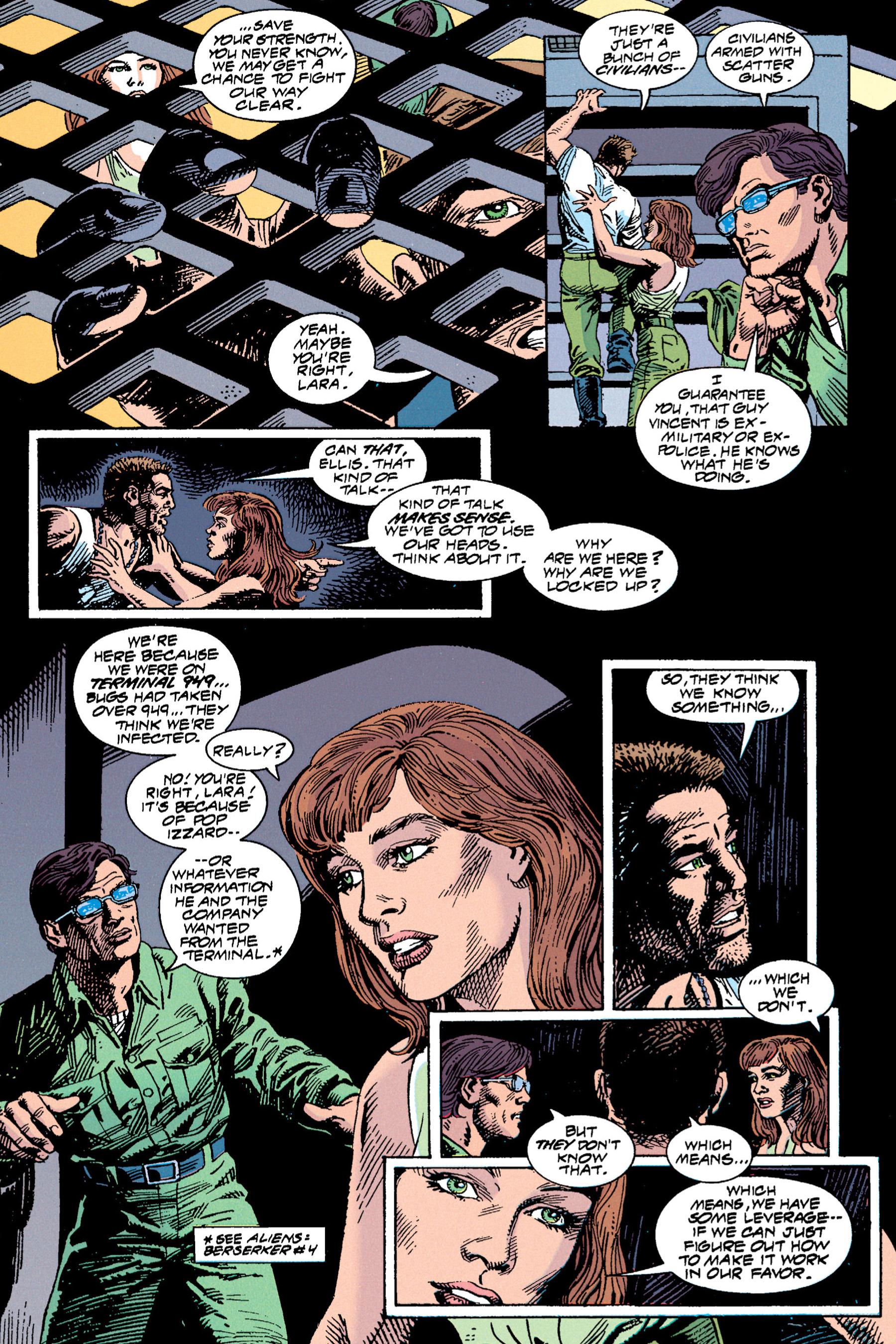 Read online Aliens vs. Predator Omnibus comic -  Issue # _TPB 1 Part 3 - 72