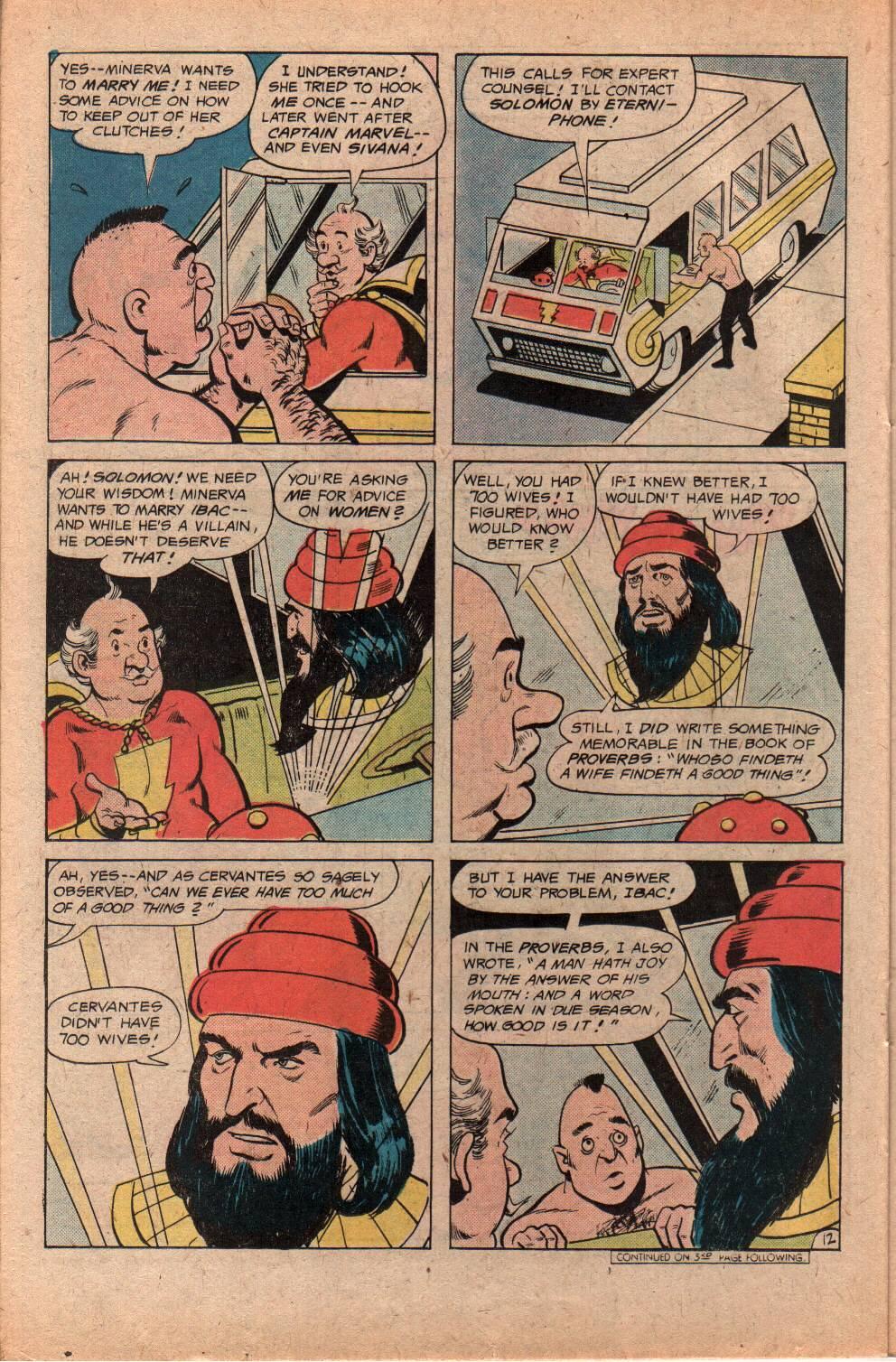 Read online Shazam! (1973) comic -  Issue #29 - 22