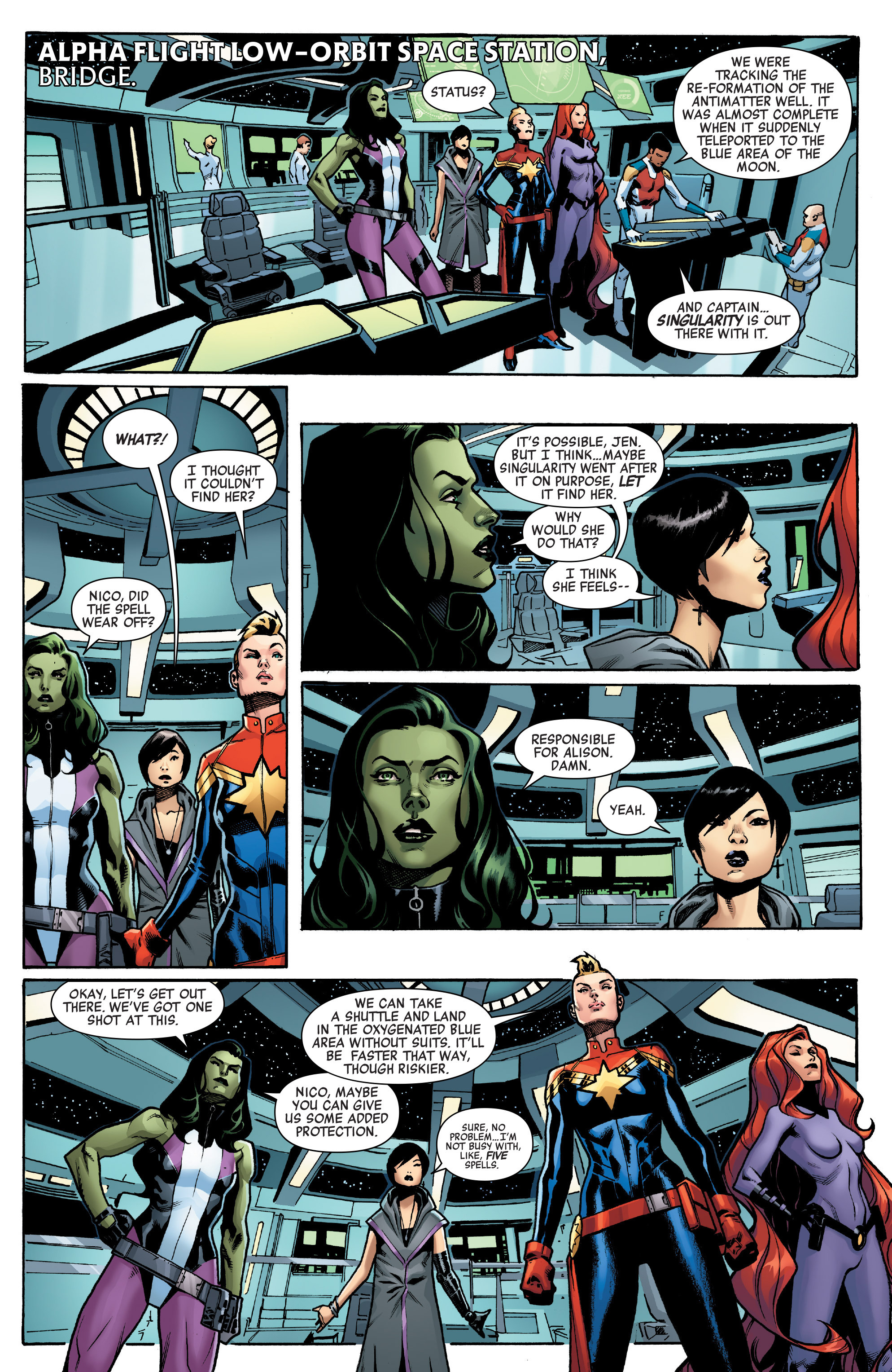 Read online A-Force (2016) comic -  Issue #4 - 5