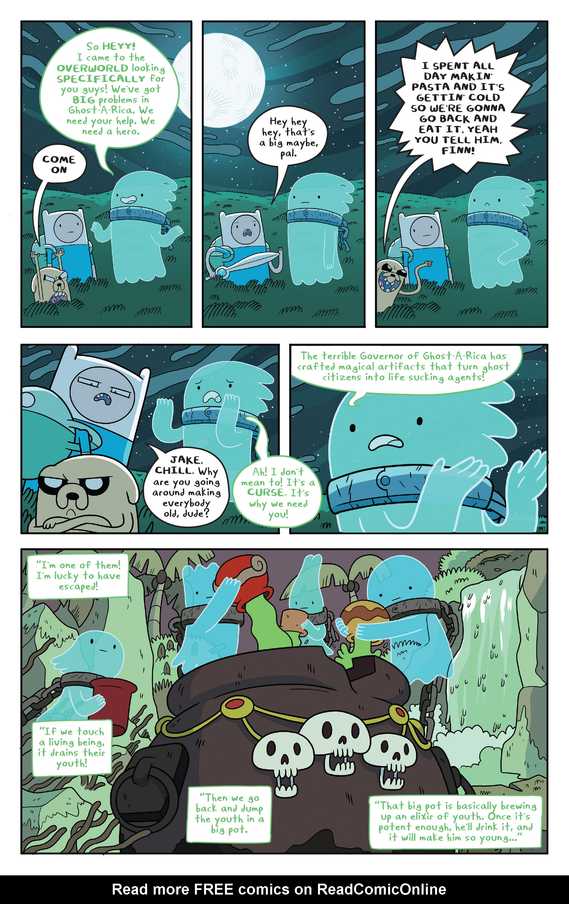 Read online Adventure Time comic -  Issue #51 - 12