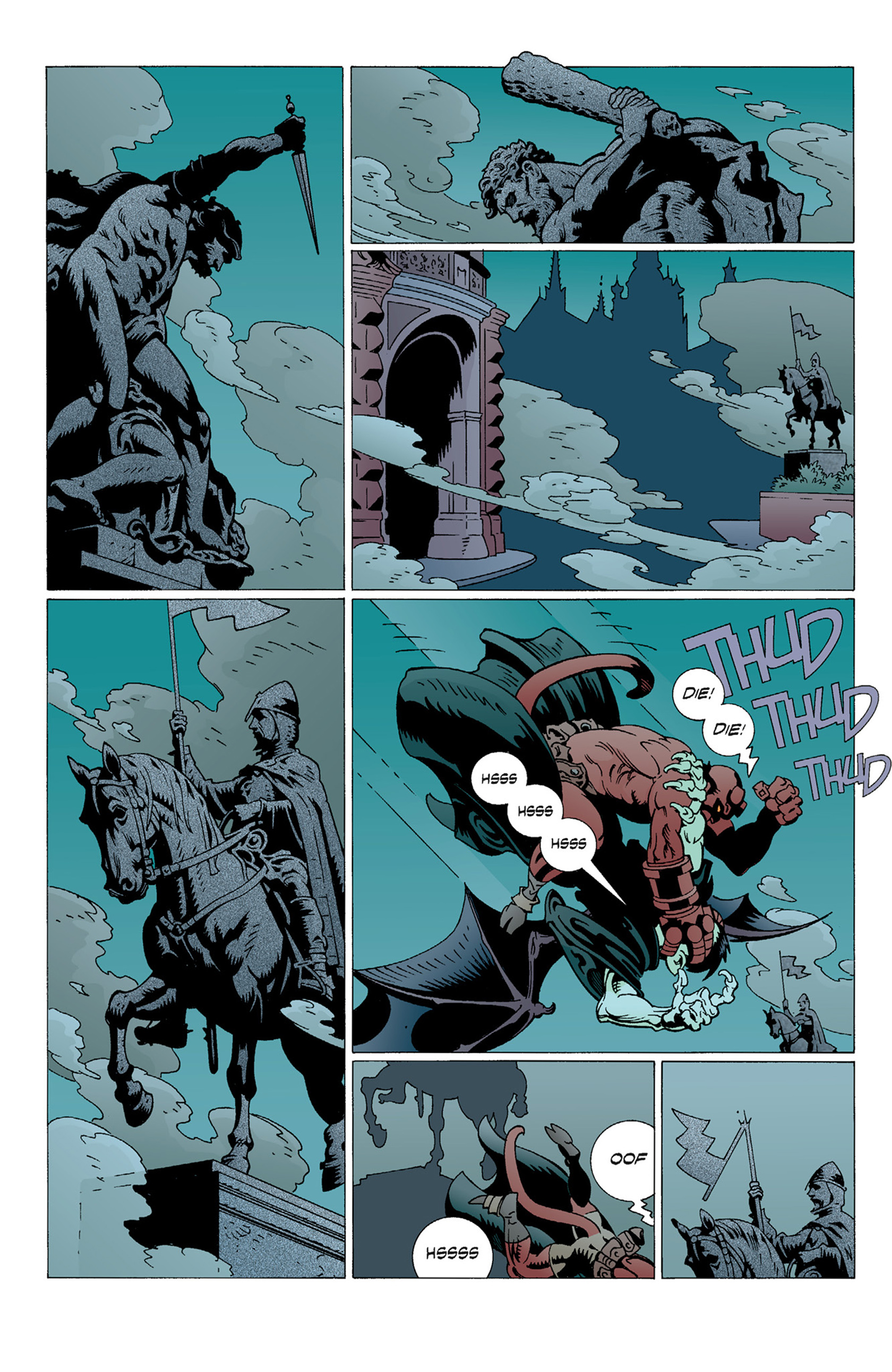 Read online Hellboy: The Troll Witch and Others comic -  Issue # TPB - 46