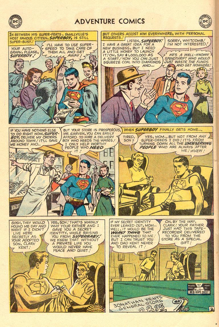 Read online Adventure Comics (1938) comic -  Issue #263 - 4