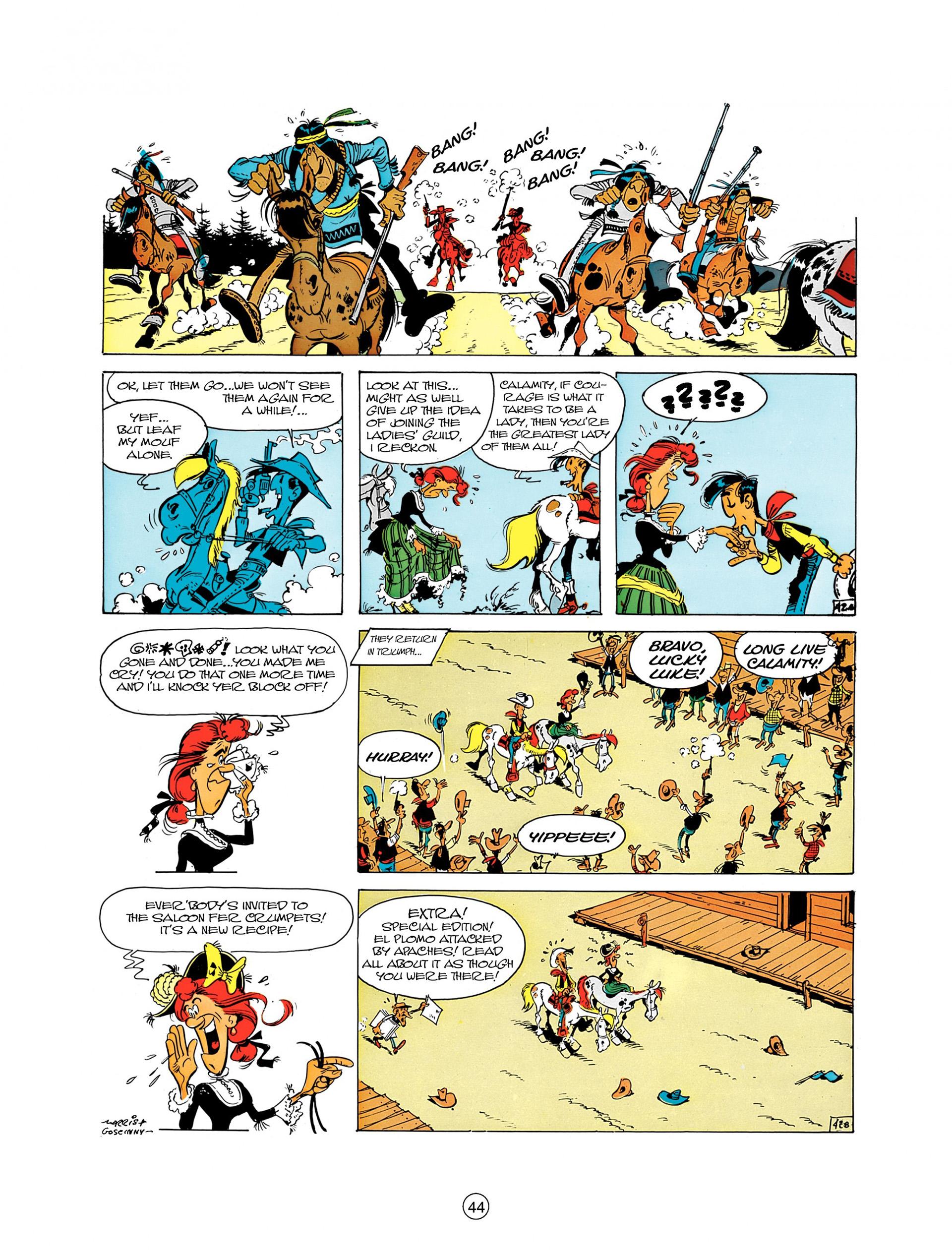 Read online A Lucky Luke Adventure comic -  Issue #8 - 44