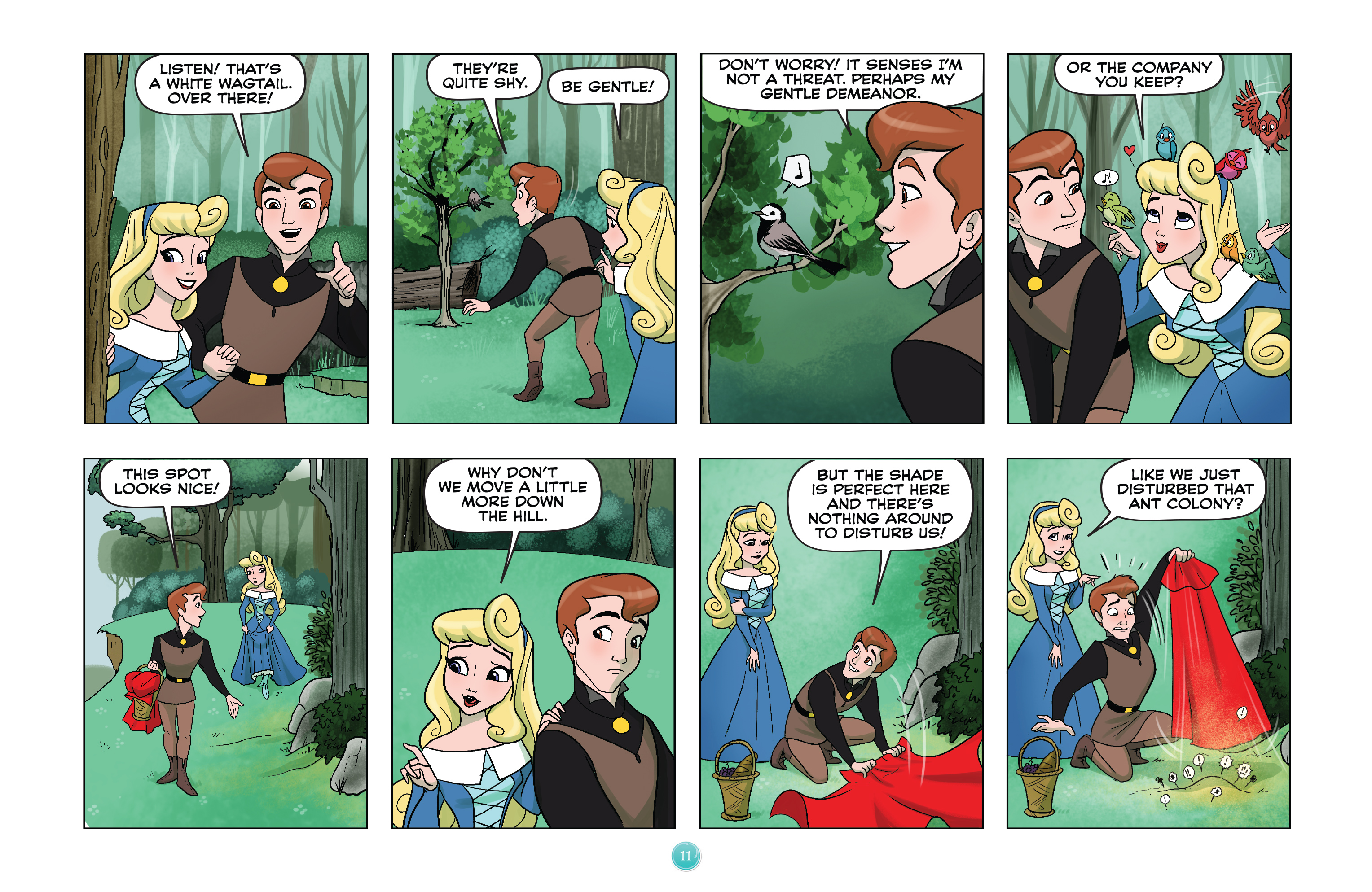Read online Disney Princess comic -  Issue #4 - 14
