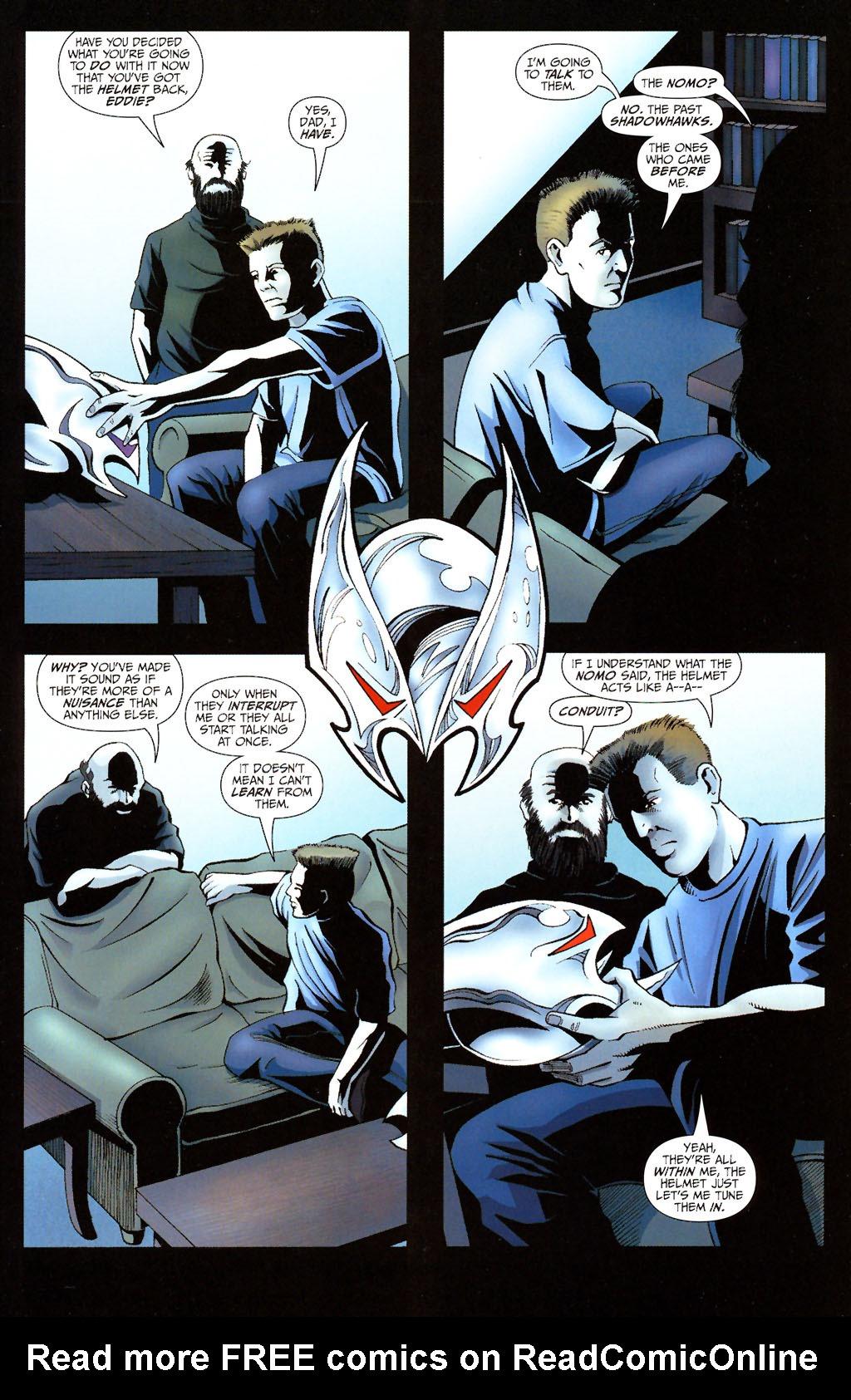 Read online ShadowHawk (2005) comic -  Issue #13 - 3