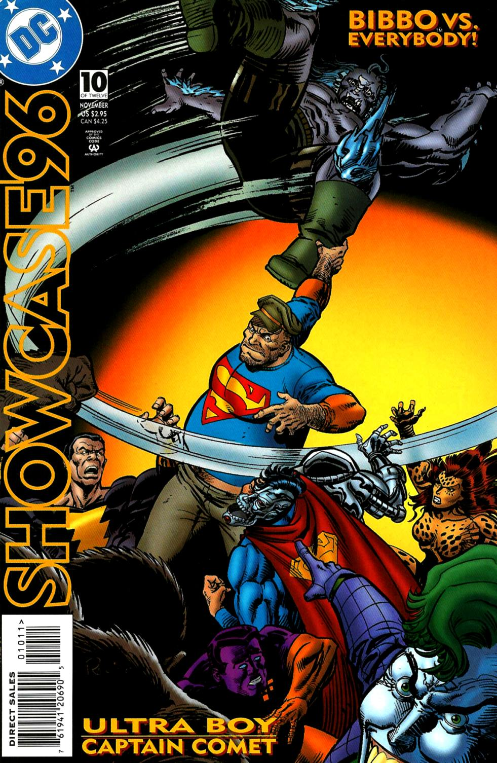 Read online Showcase '96 comic -  Issue #10 - 1
