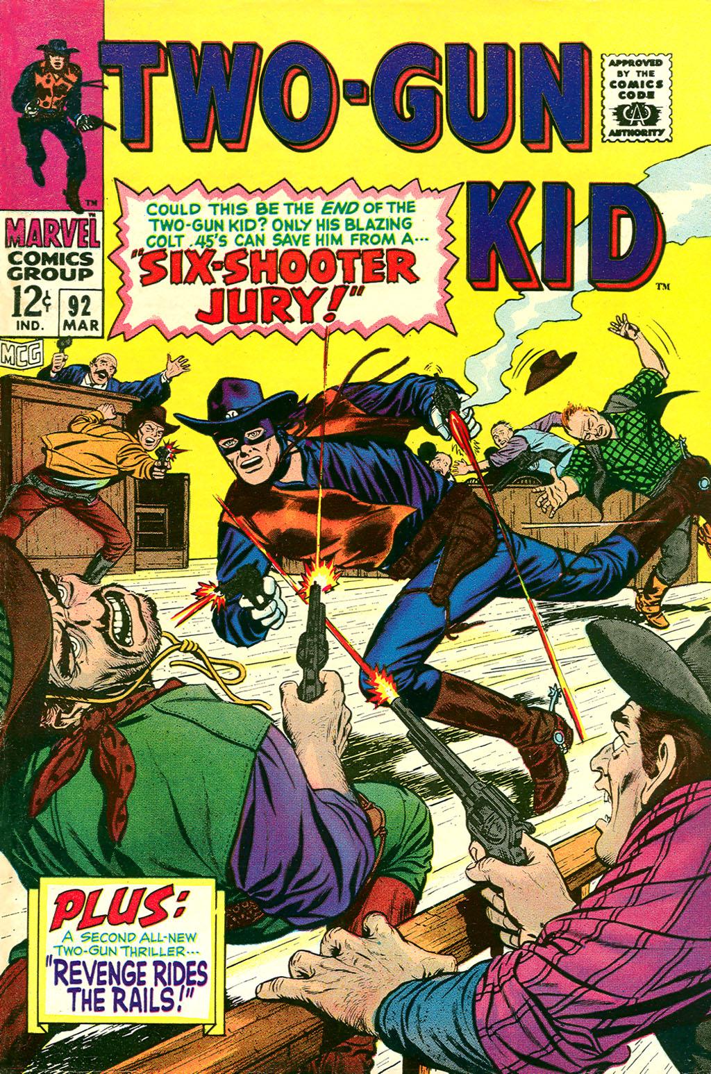 Read online Two-Gun Kid comic -  Issue #92 - 1