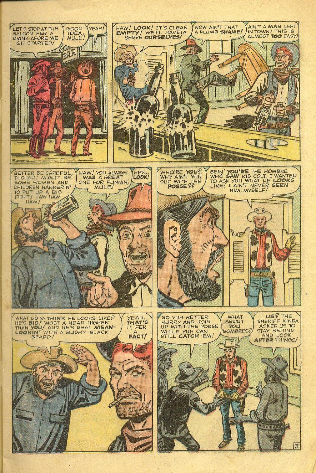 Gunsmoke Western issue 58 - Page 5