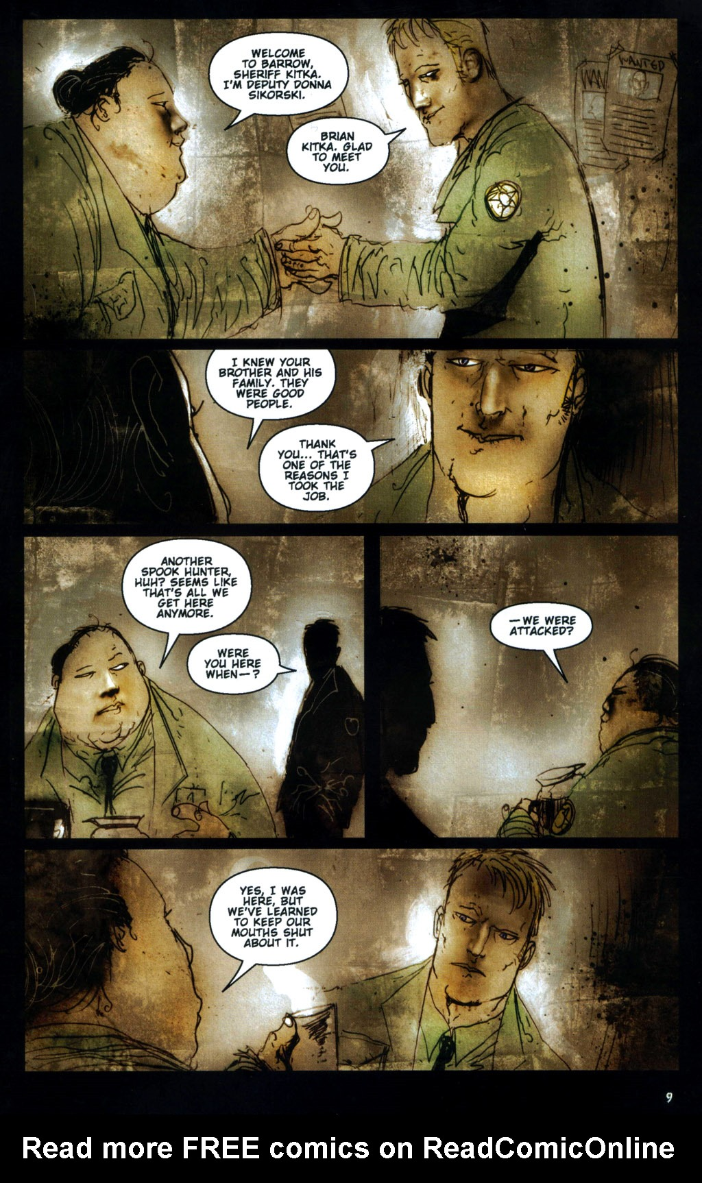 Read online 30 Days of Night: Return to Barrow comic -  Issue #1 - 11