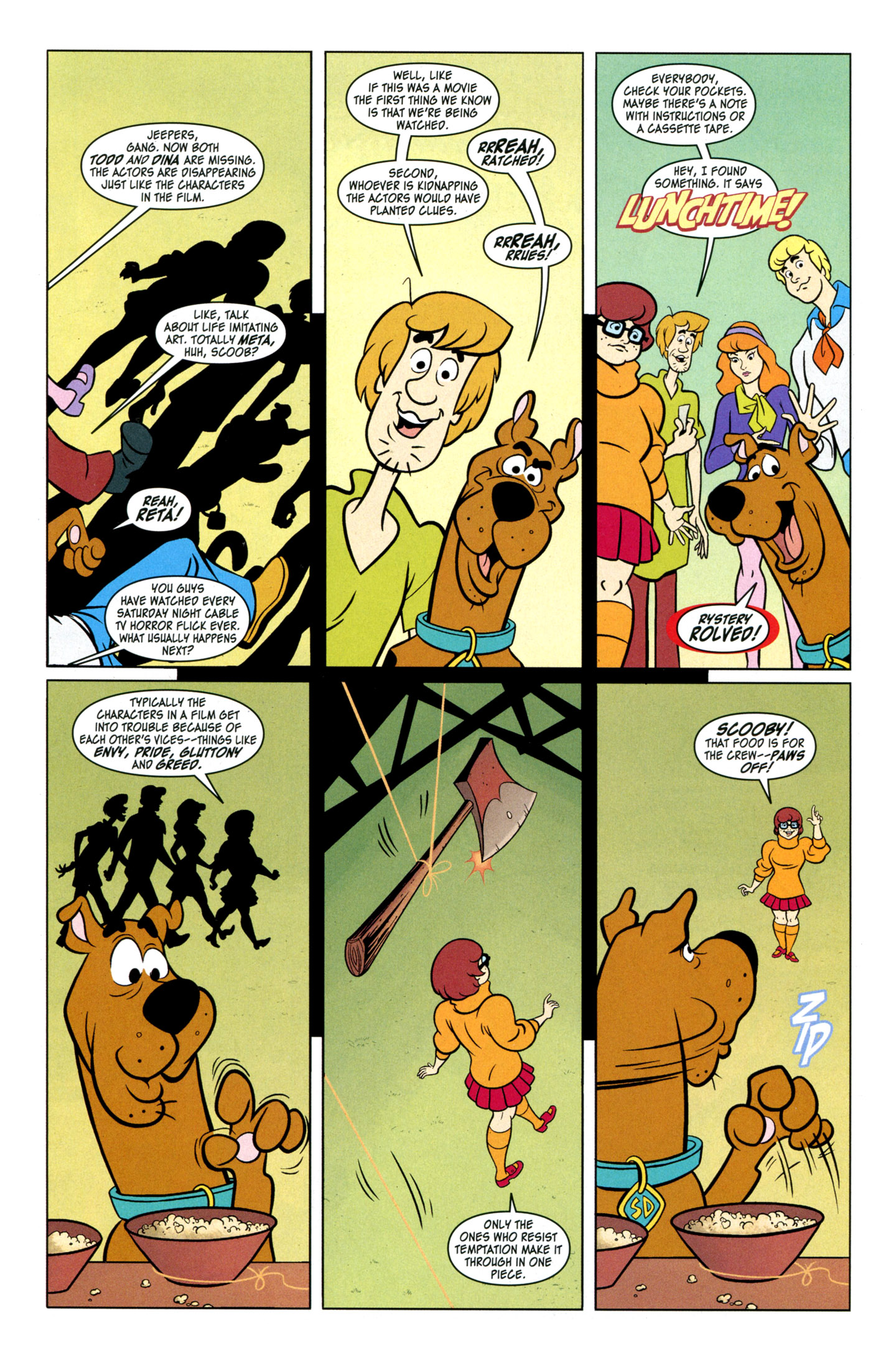 Read online Scooby-Doo: Where Are You? comic -  Issue #29 - 9