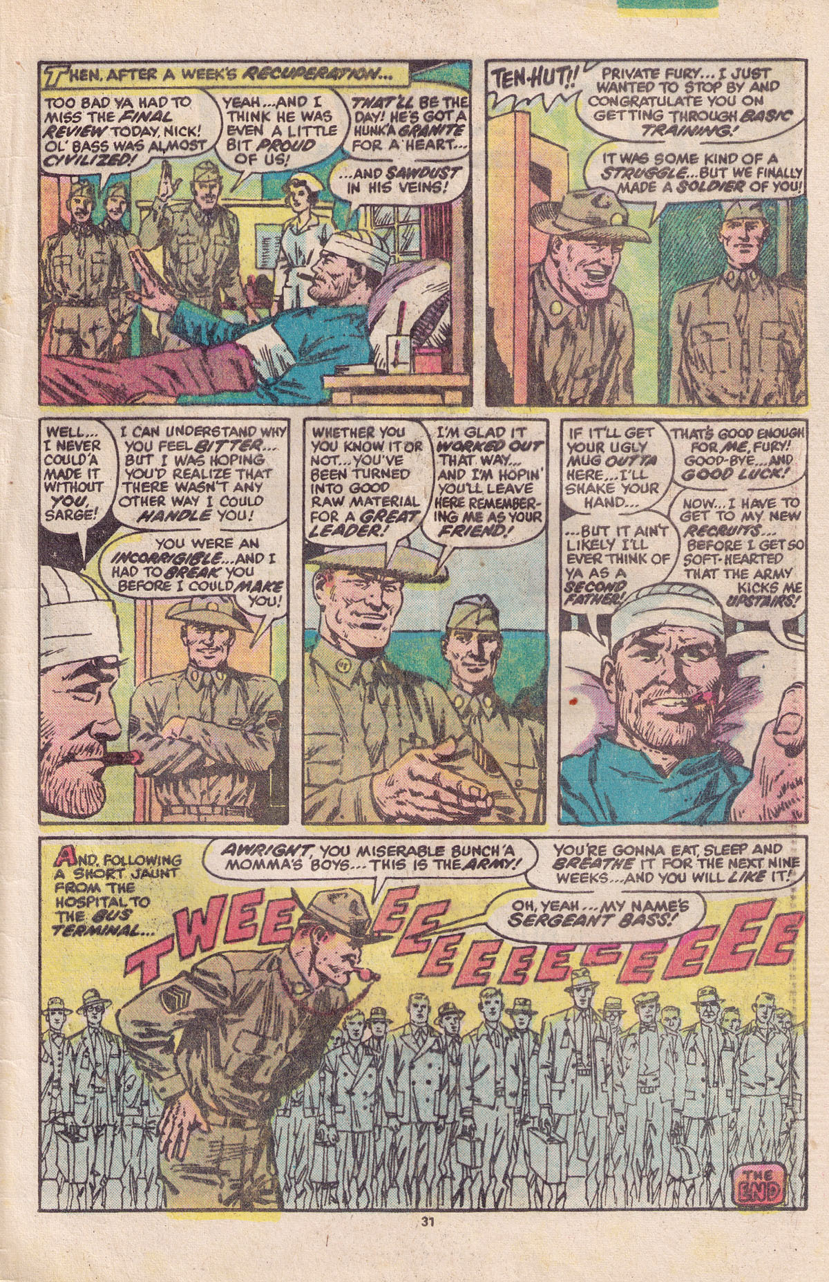 Read online Sgt. Fury comic -  Issue #158 - 33