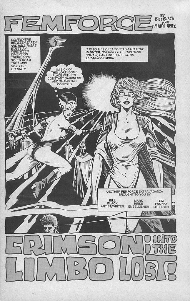 Femforce Issue #47 #47 - English 3