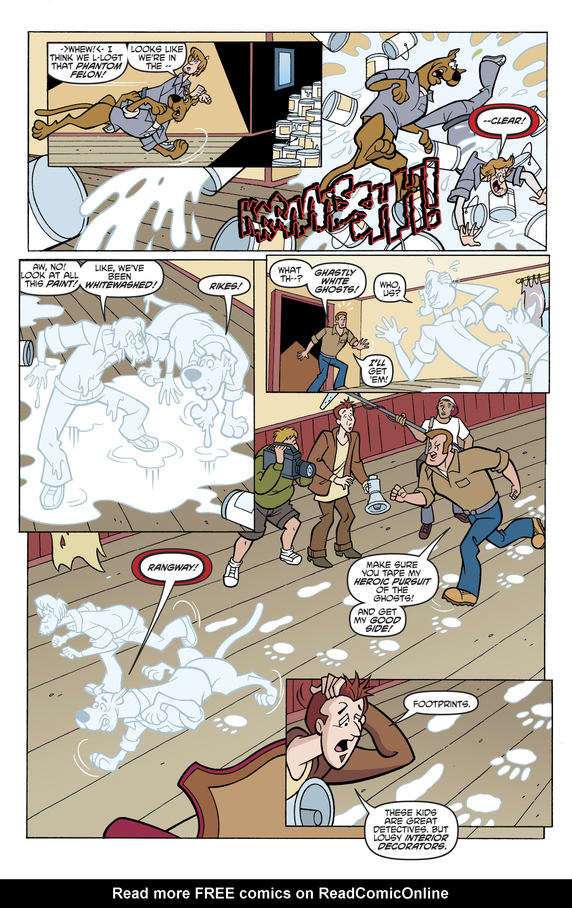 Read online Scooby-Doo: Where Are You? comic -  Issue #81 - 18