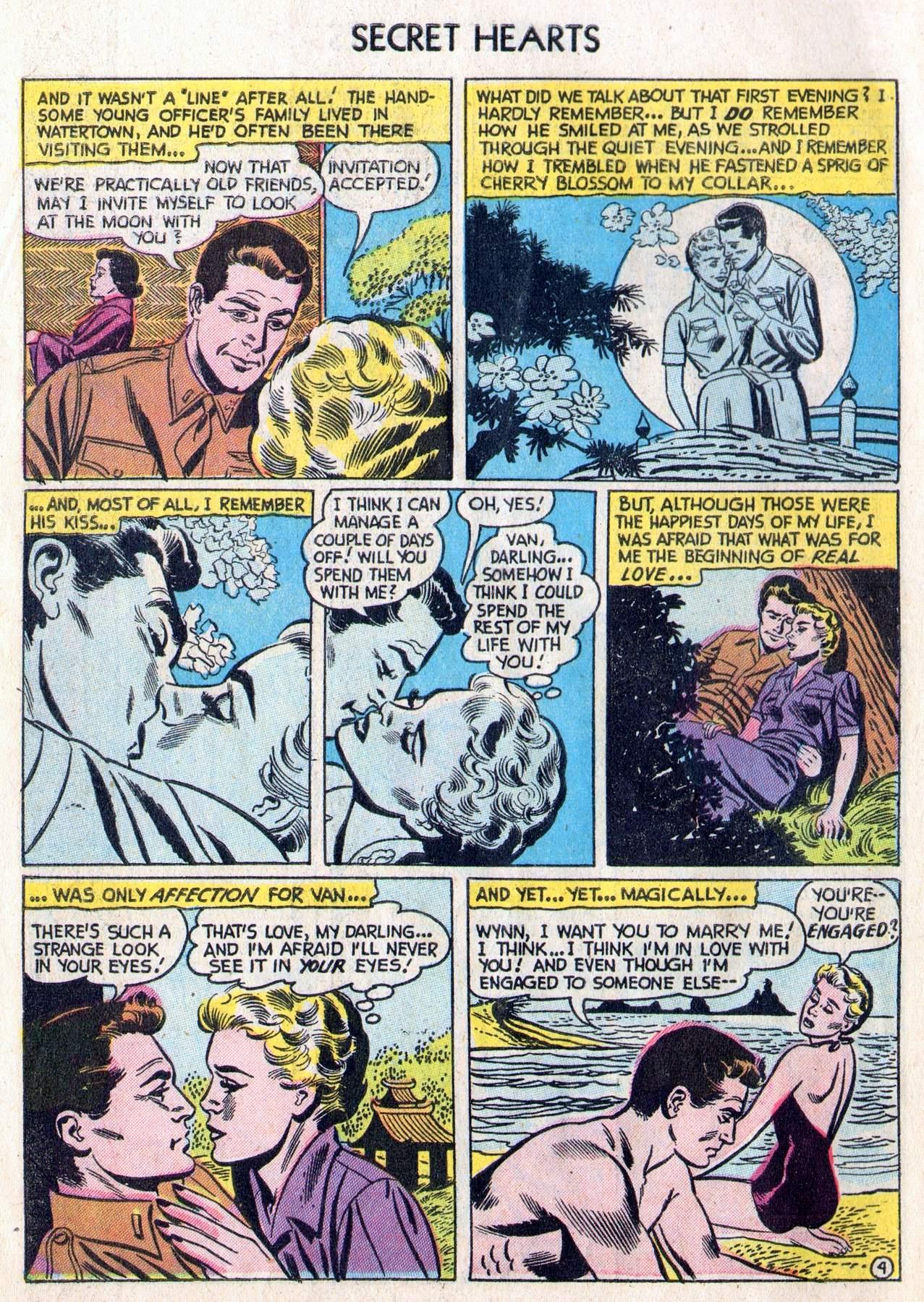 Read online Secret Hearts comic -  Issue #28 - 6