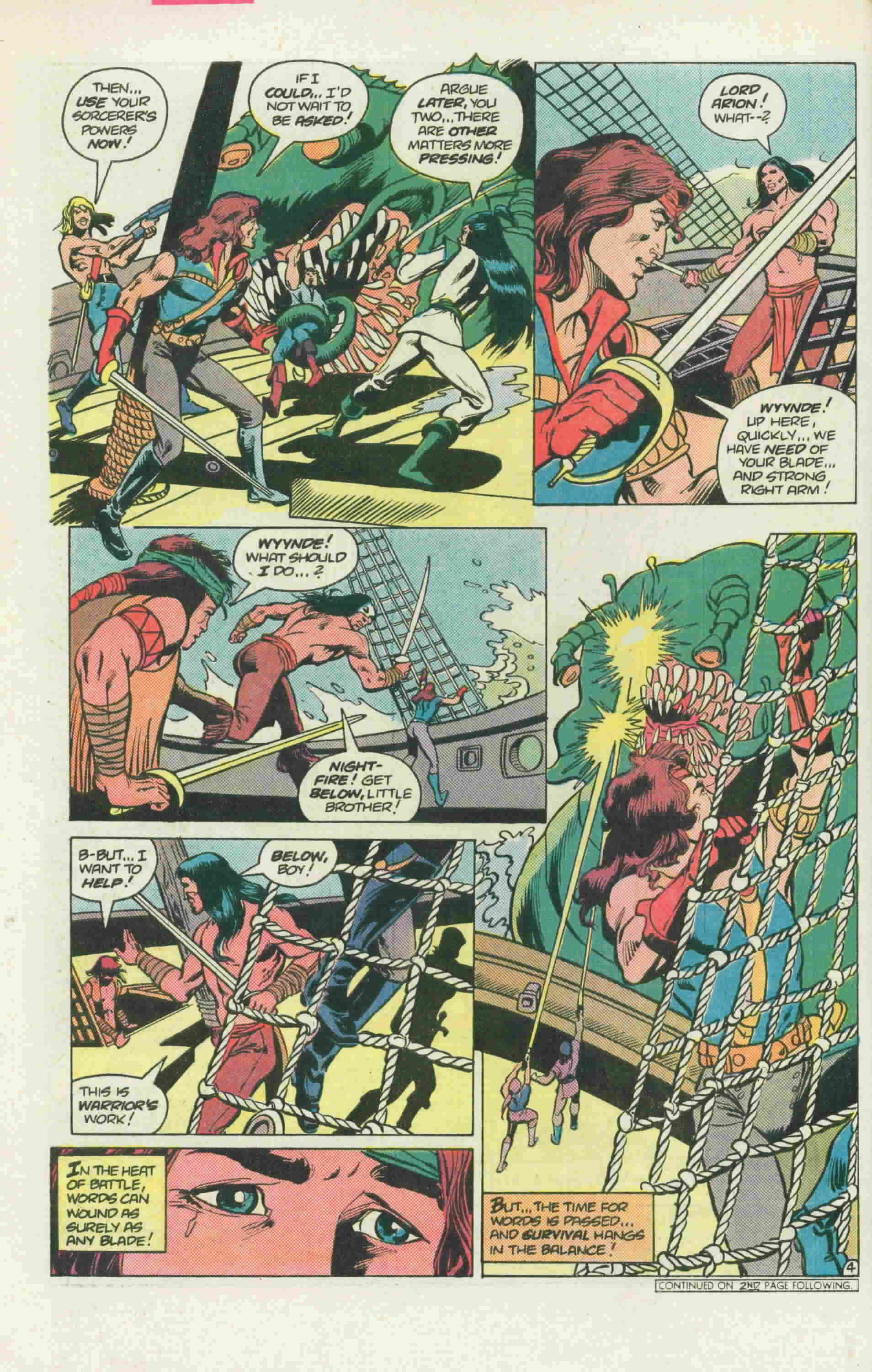Read online Arion, Lord of Atlantis comic -  Issue #22 - 7