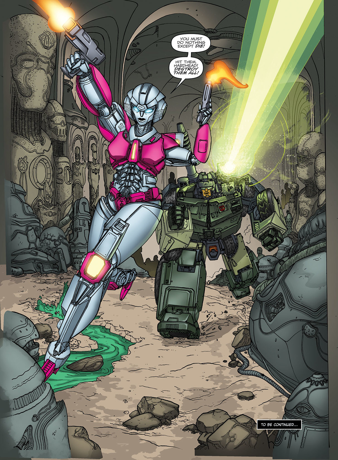 Read online Transformers: Heart of Darkness comic -  Issue #1 - 25