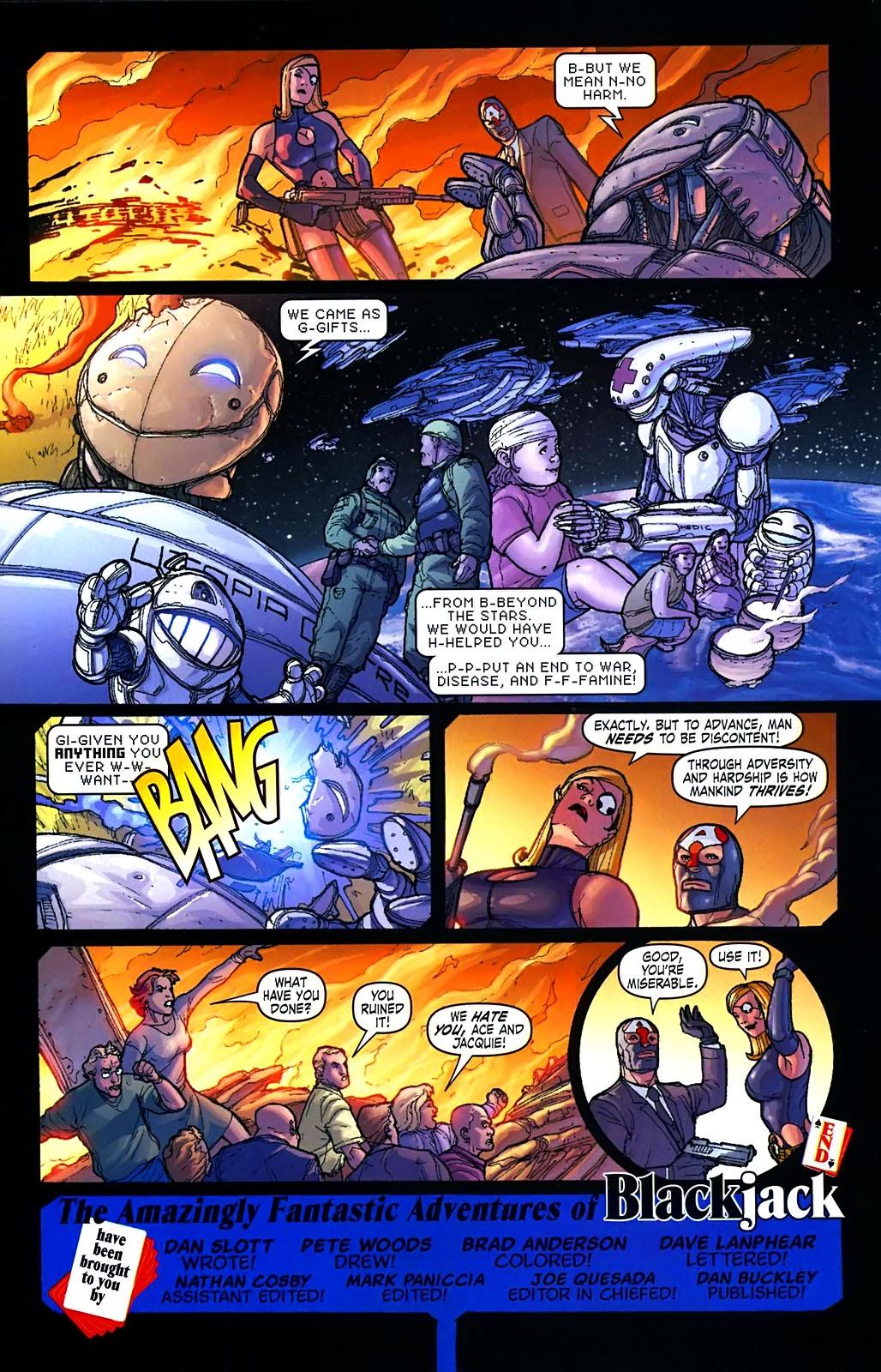 Read online Amazing Fantasy (2004) comic -  Issue #15 - 42