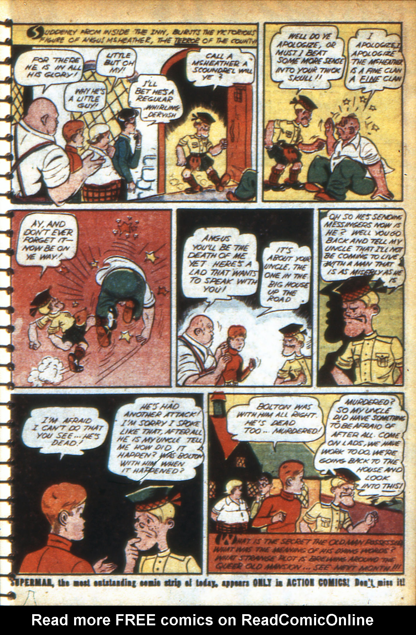 Read online Adventure Comics (1938) comic -  Issue #47 - 54