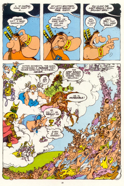Read online Sergio Aragonés Groo the Wanderer comic -  Issue #99 - 22