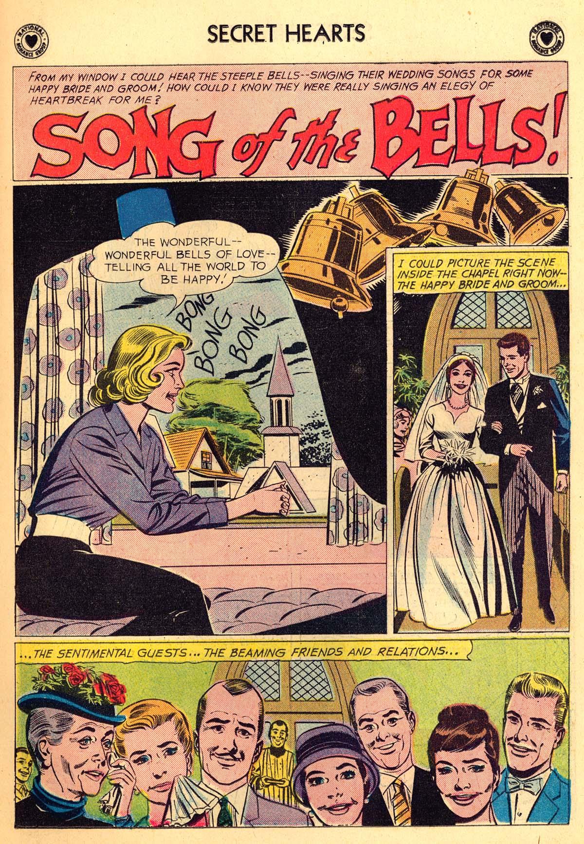 Read online Secret Hearts comic -  Issue #66 - 19
