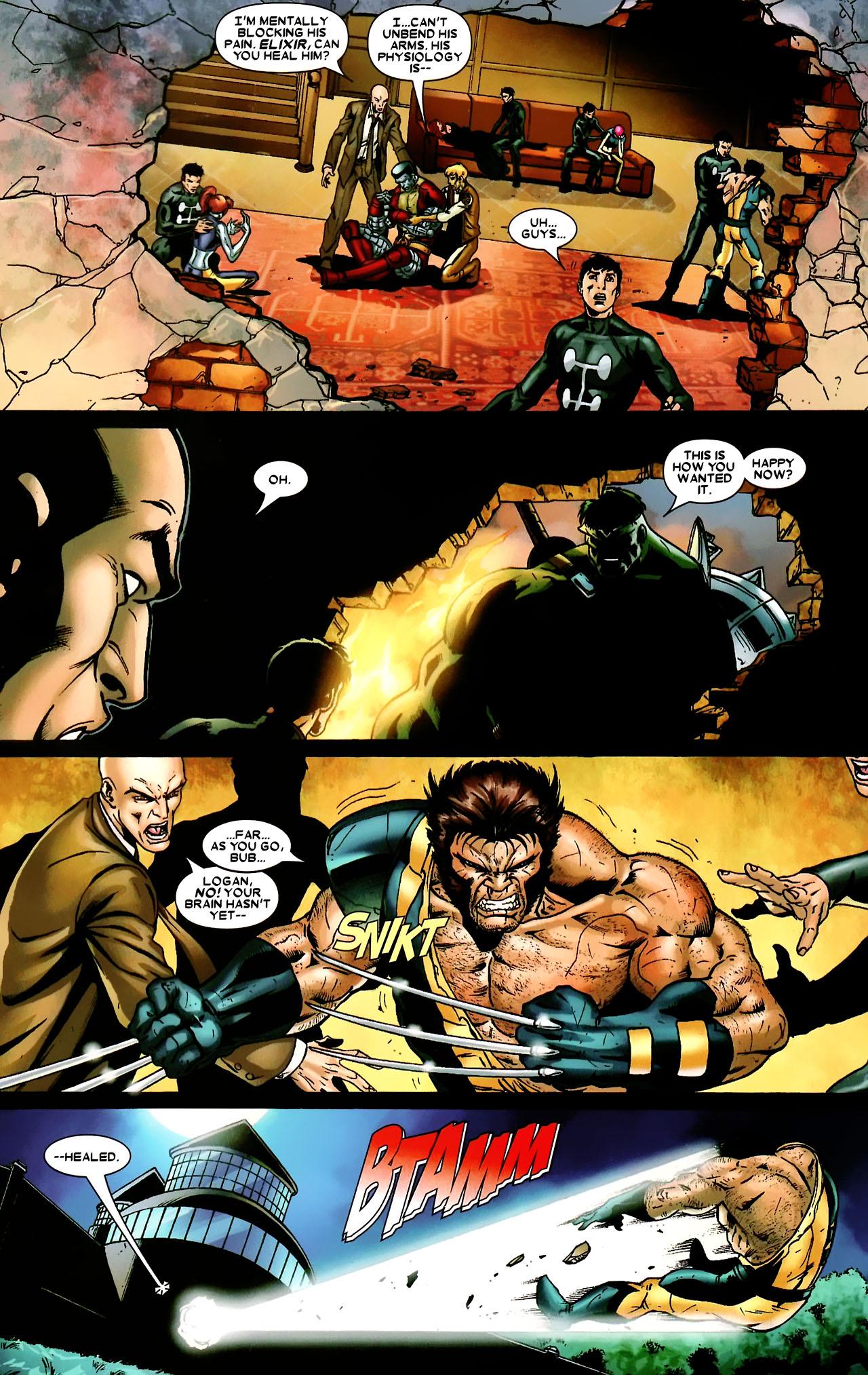 Read online World War Hulk: X-Men comic -  Issue #3 - 13