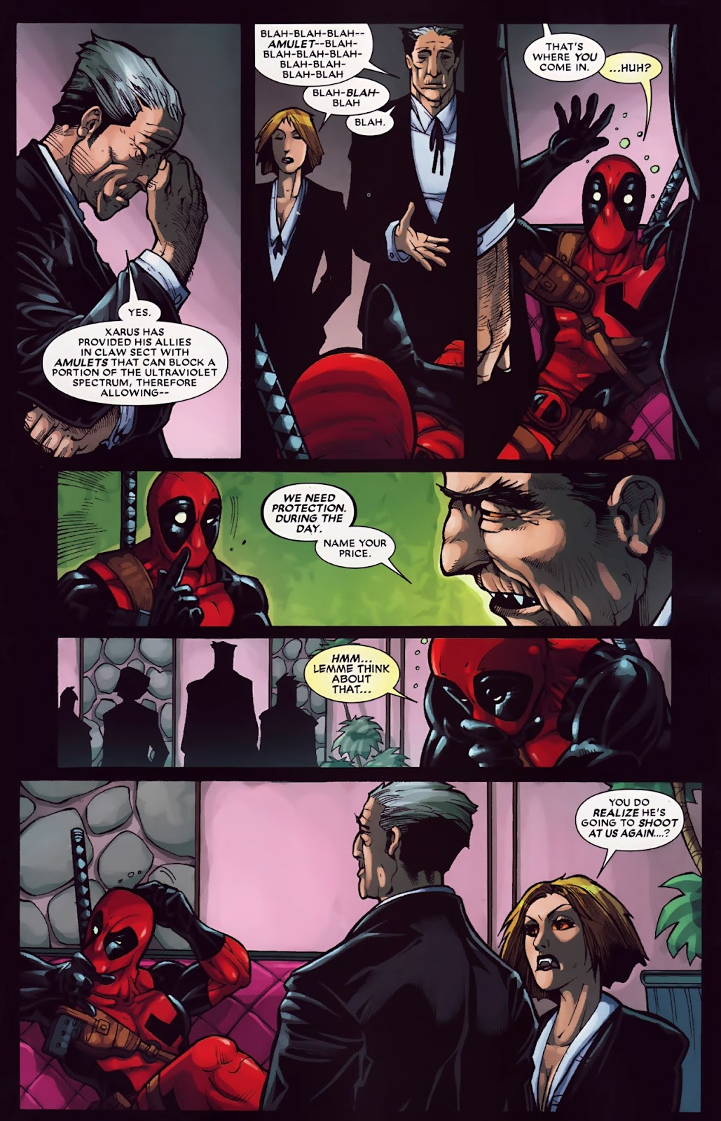 Read online Deadpool (2008) comic -  Issue #30 - 11