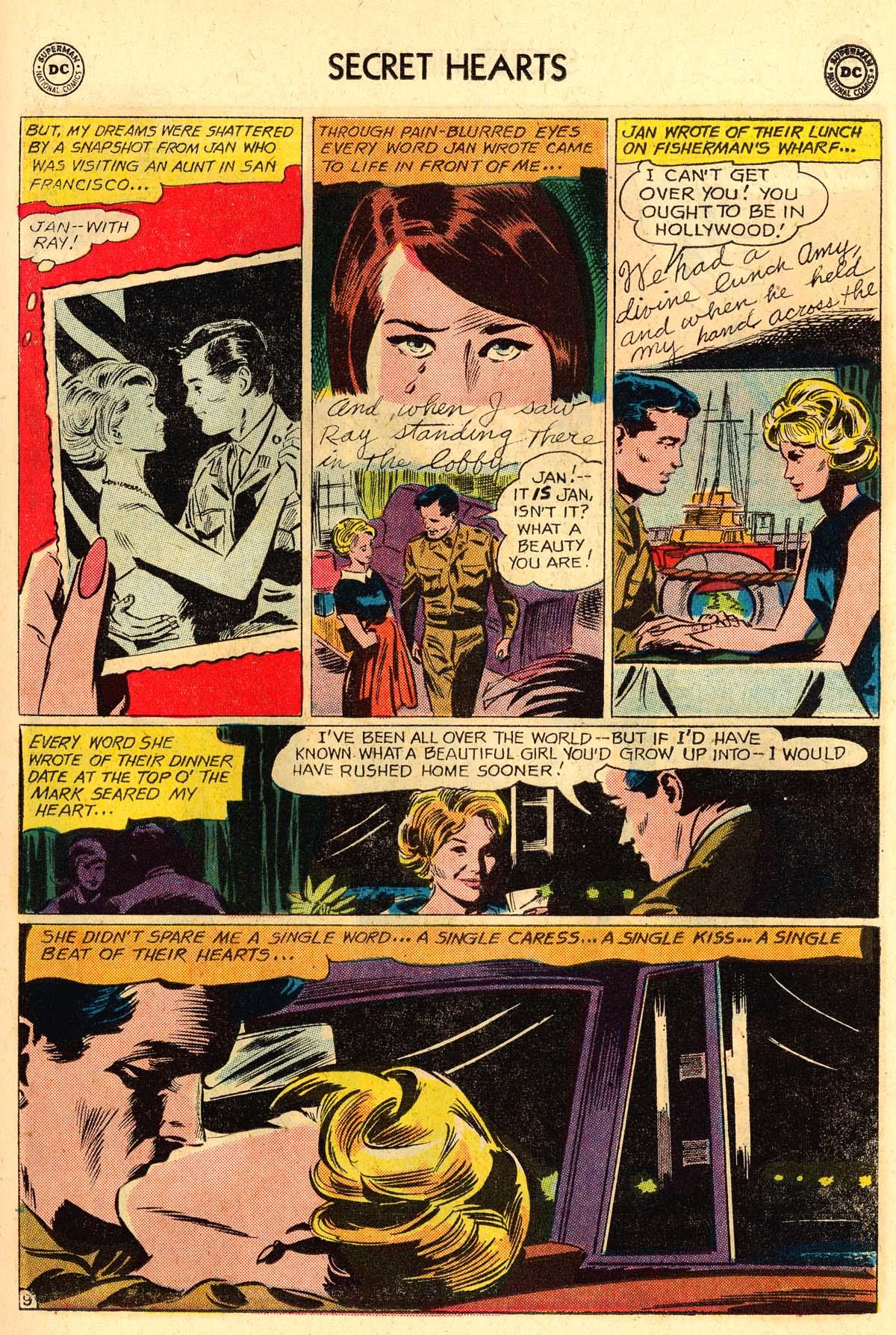 Read online Secret Hearts comic -  Issue #106 - 11