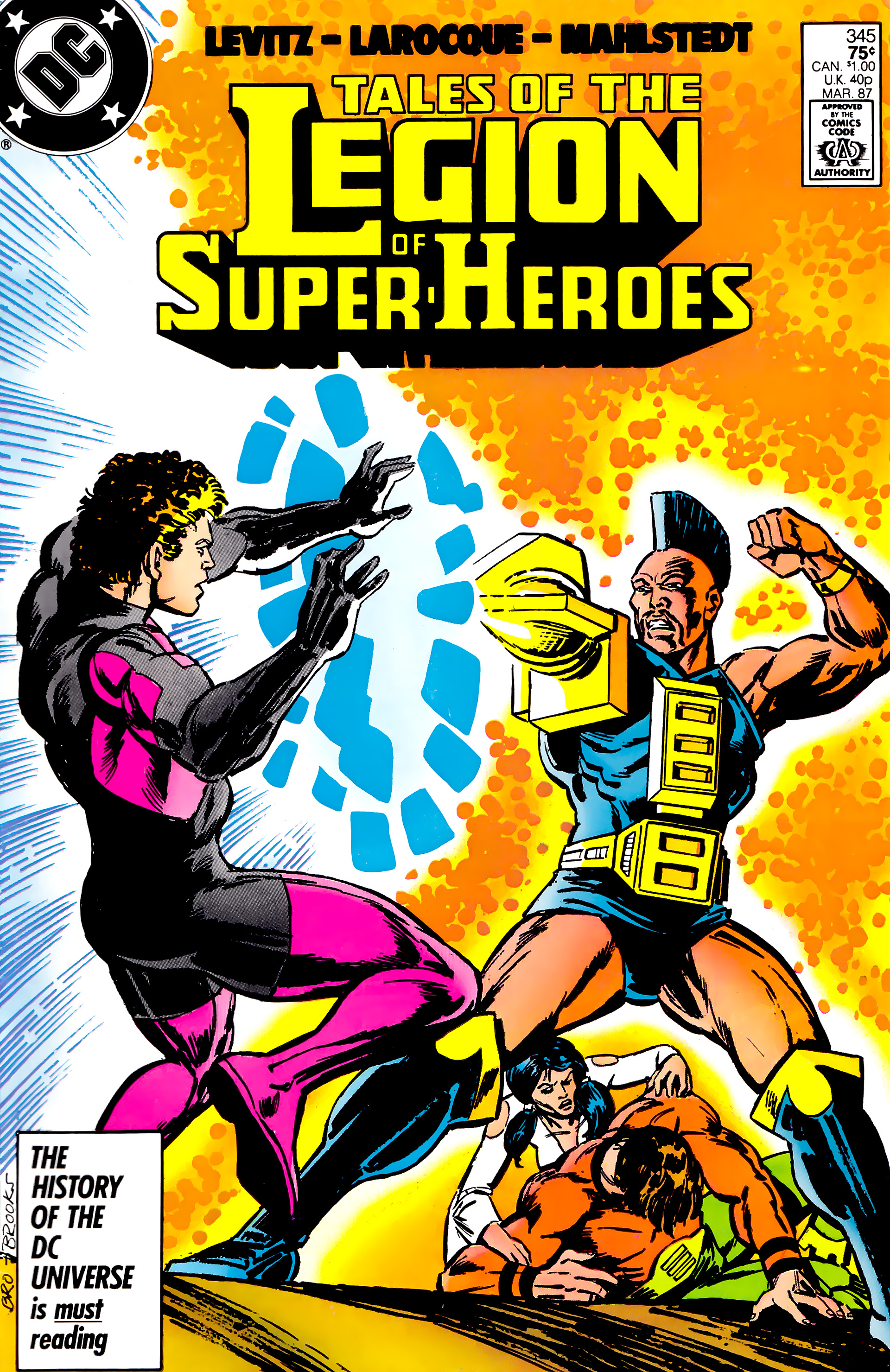 Legion of Super-Heroes (1984) 20 Page 1