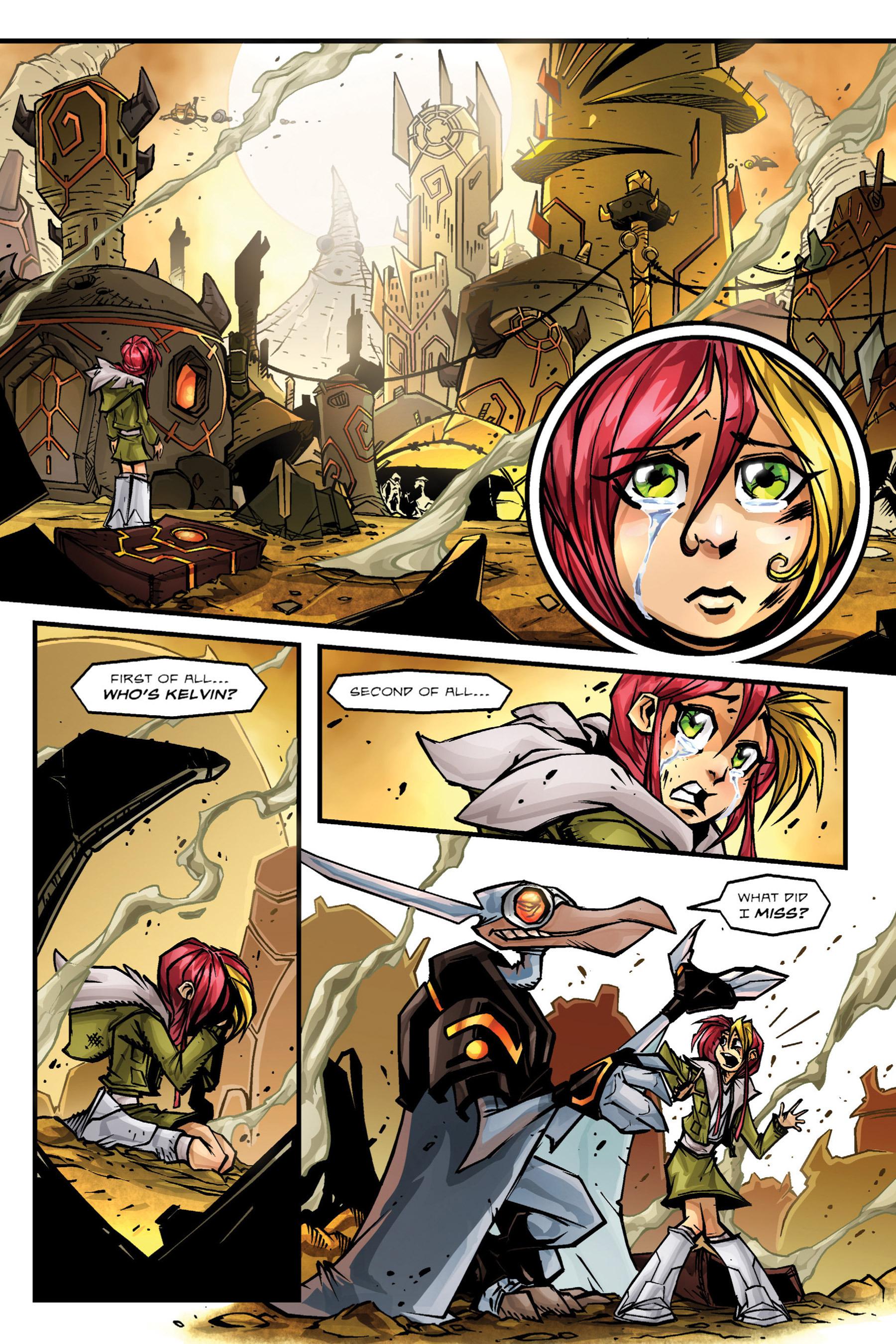 Read online Rexodus comic -  Issue # Full - 58