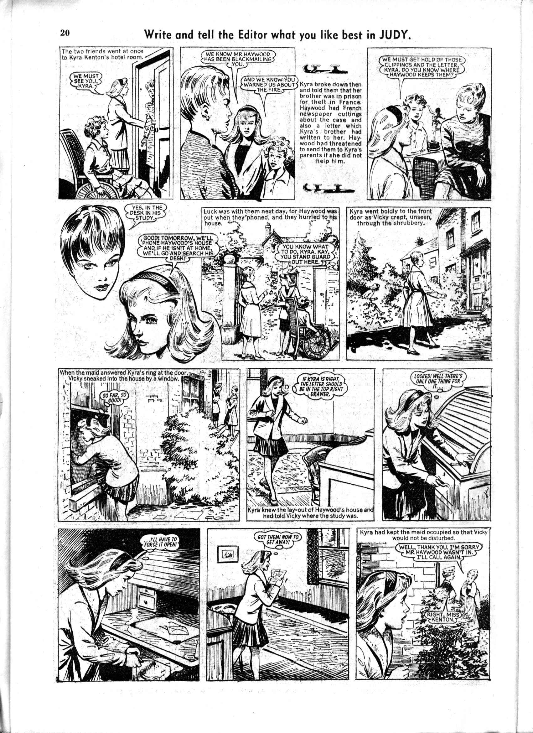 Read online Judy comic -  Issue #167 - 20