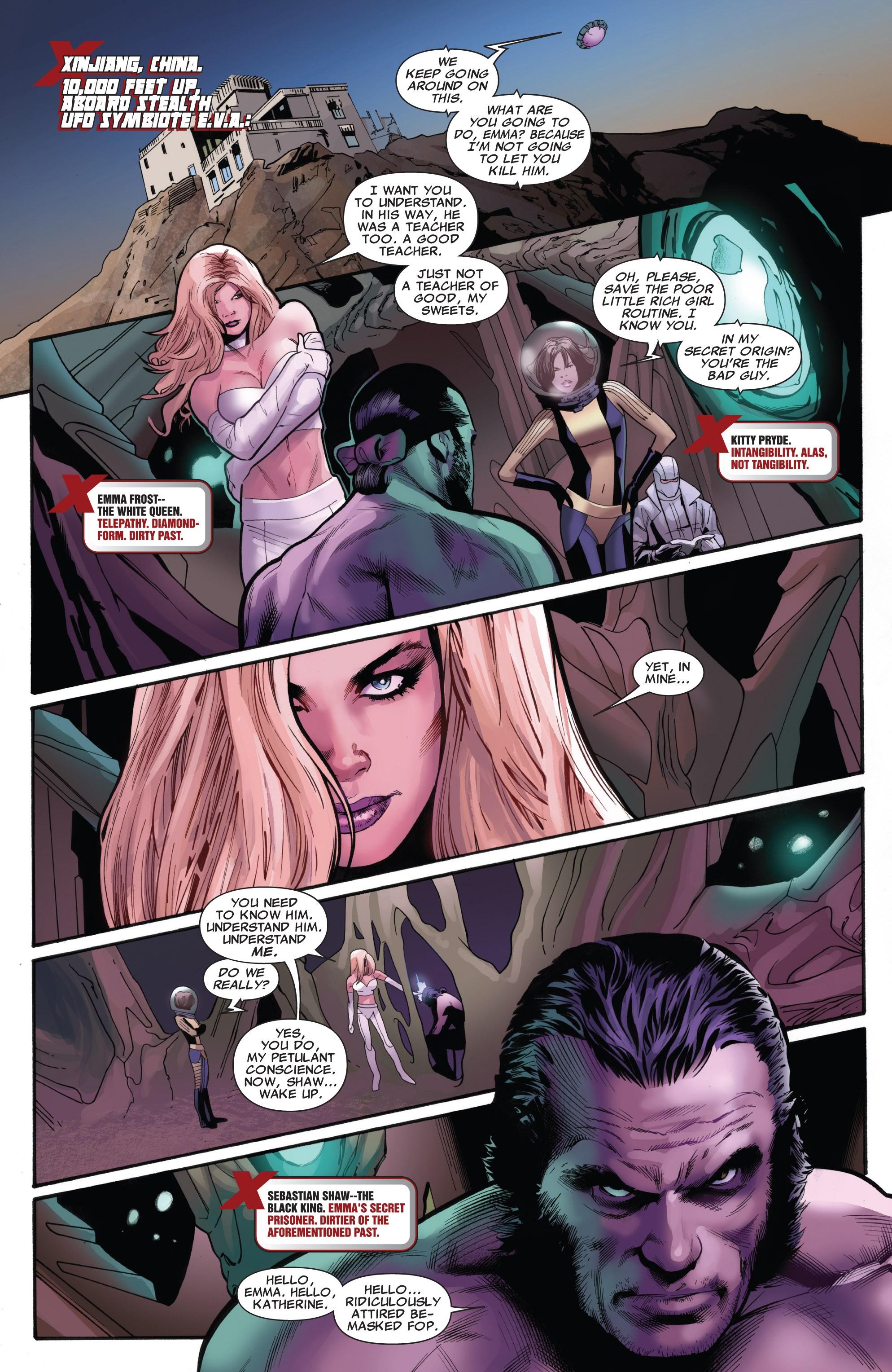 Read online Uncanny X-Men (1963) comic -  Issue #531 - 19