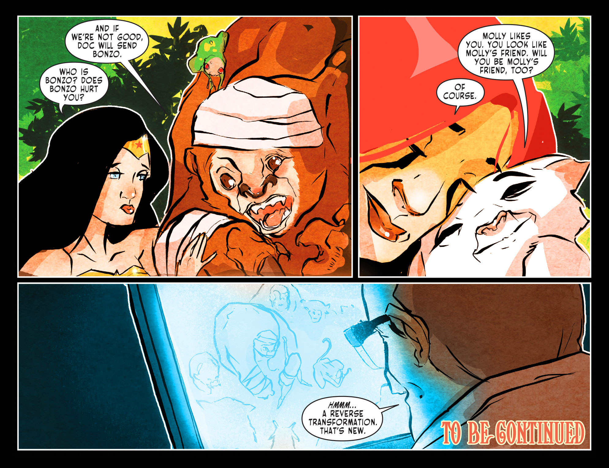 Read online Sensation Comics Featuring Wonder Woman comic -  Issue #49 - 23