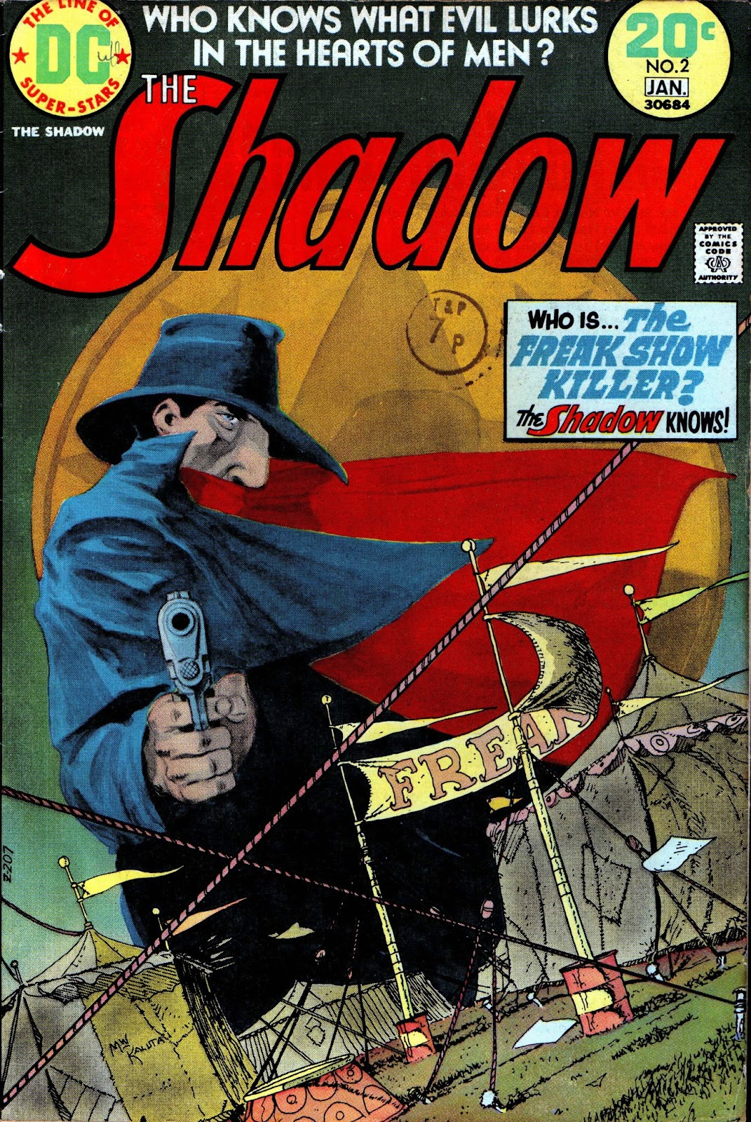 The Shadow (1973) issue 2 - Page 1